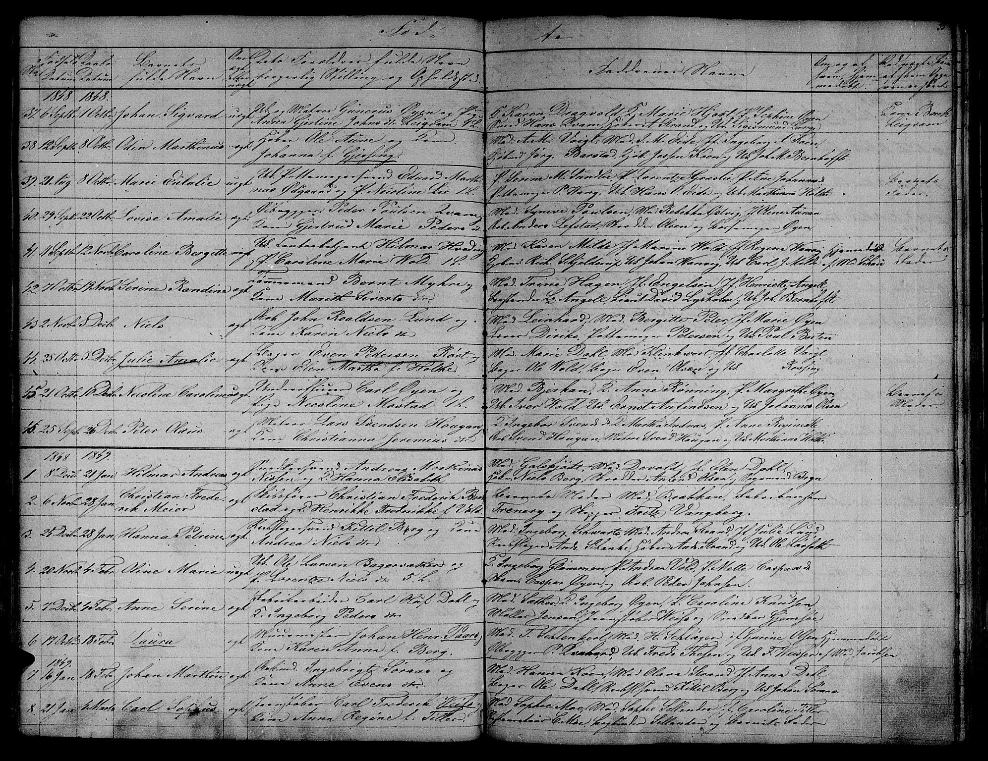 SAT, Ministerialprotokoller, klokkerbøker og fødselsregistre - Sør-Trøndelag, 604/L0182: Ministerialbok nr. 604A03, 1818-1850, s. 55