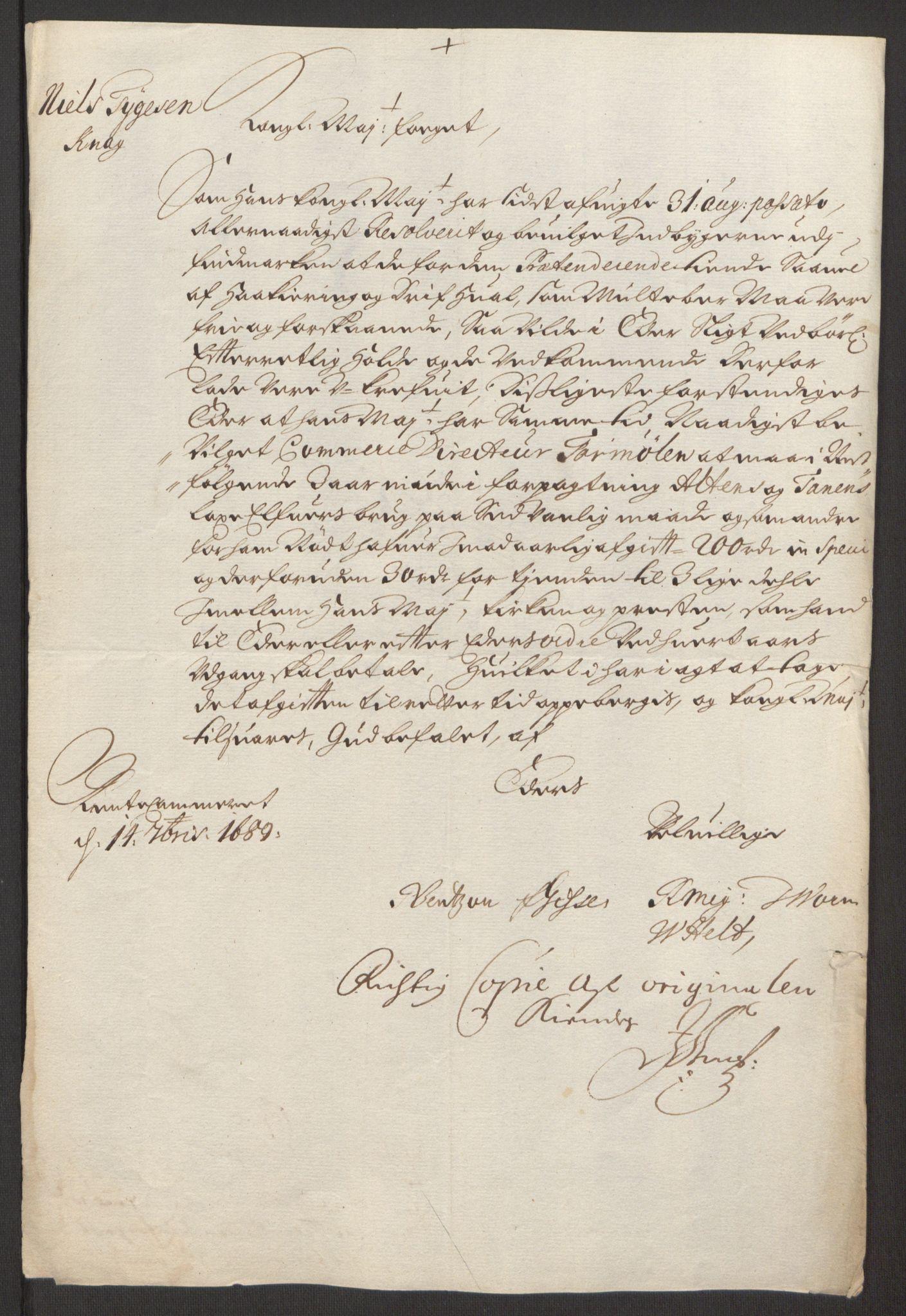 RA, Rentekammeret inntil 1814, Reviderte regnskaper, Fogderegnskap, R69/L4851: Fogderegnskap Finnmark/Vardøhus, 1691-1700, s. 34