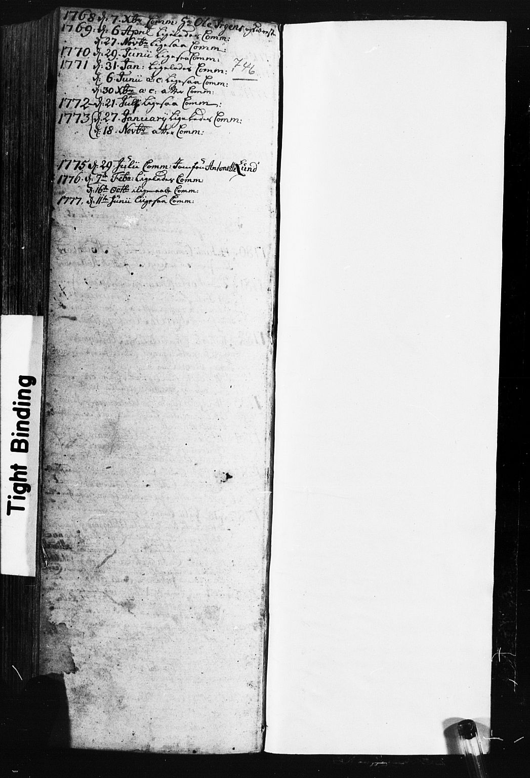 SAH, Fåberg prestekontor, Klokkerbok nr. 3, 1768-1796, s. 746-747
