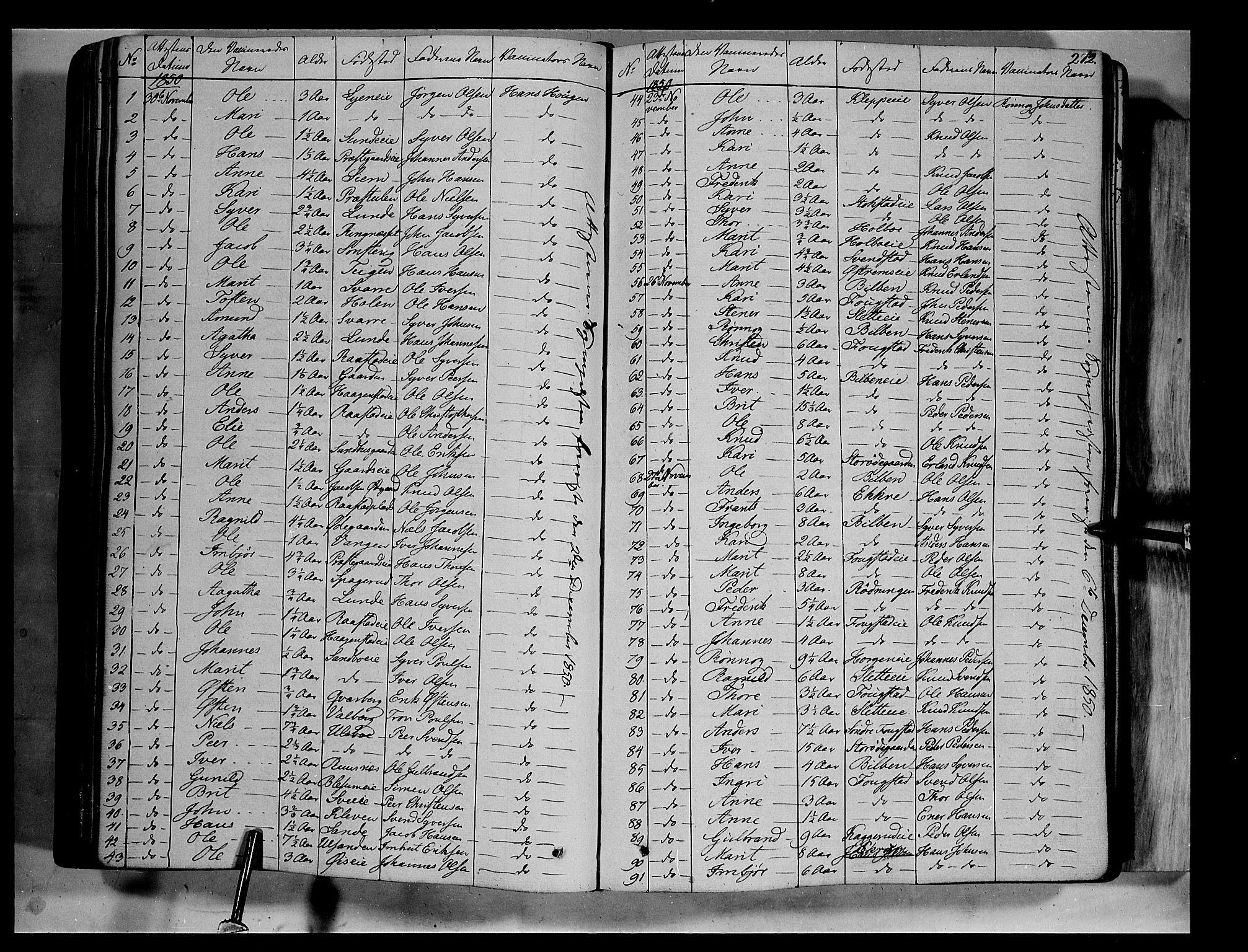 SAH, Vågå prestekontor, Ministerialbok nr. 5 /1, 1842-1856, s. 272