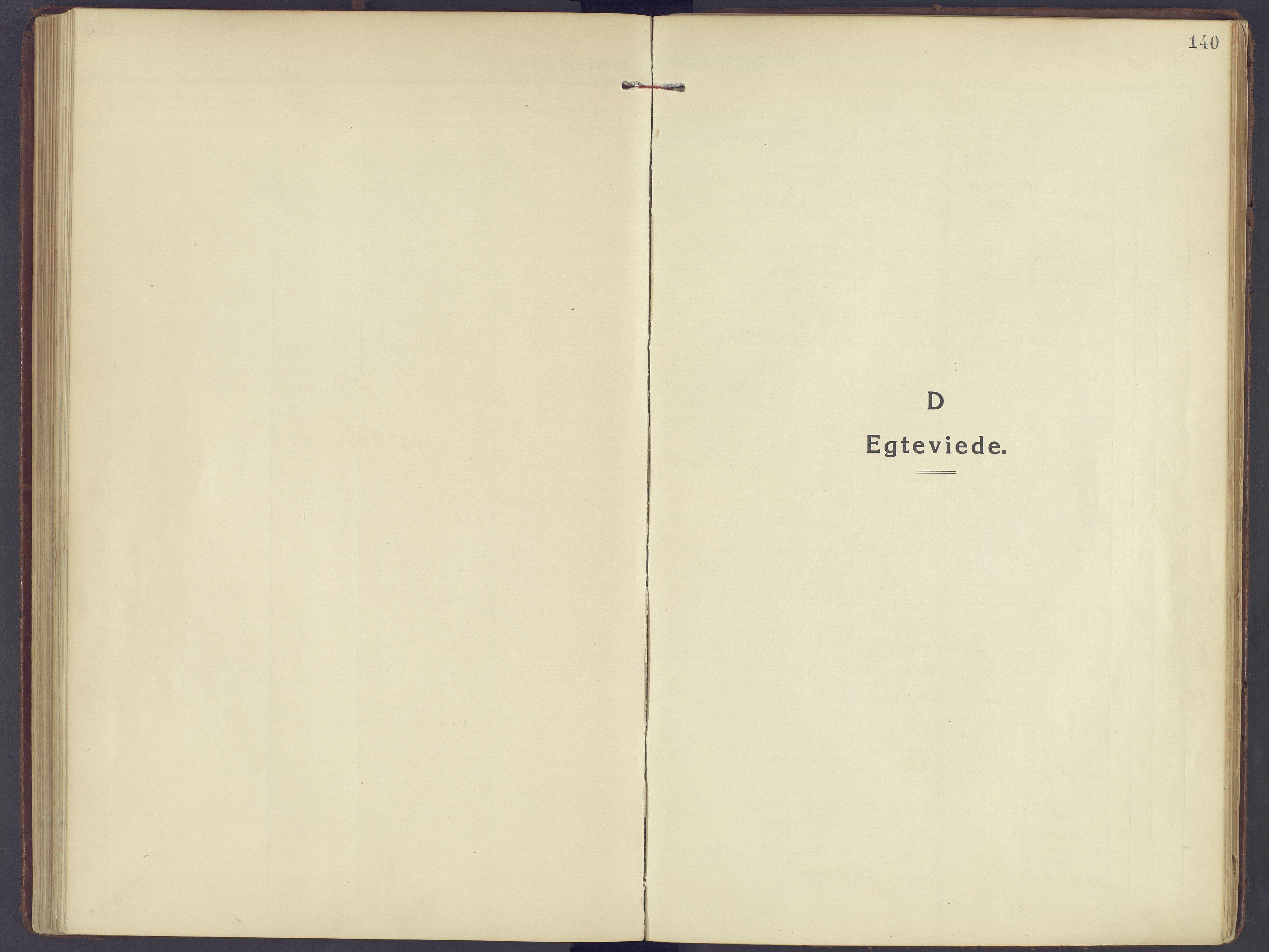 SAH, Sør-Fron prestekontor, H/Ha/Haa/L0005: Ministerialbok nr. 5, 1920-1933, s. 140
