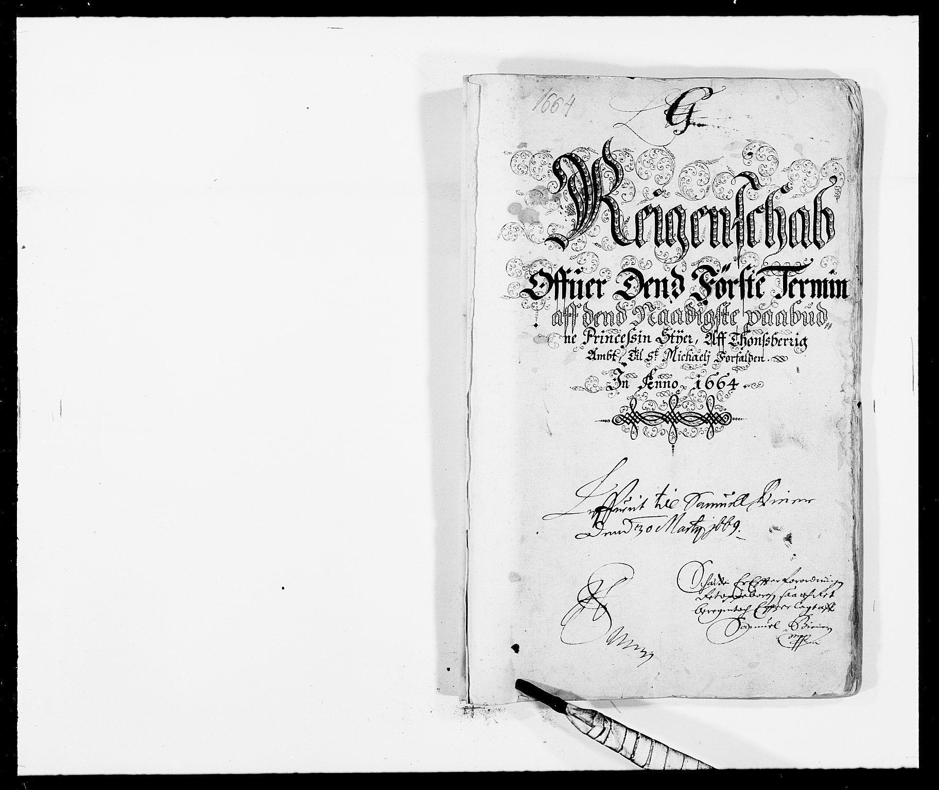 RA, Rentekammeret inntil 1814, Reviderte regnskaper, Fogderegnskap, R32/L1839: Fogderegnskap Jarlsberg grevskap, 1664-1673, s. 148