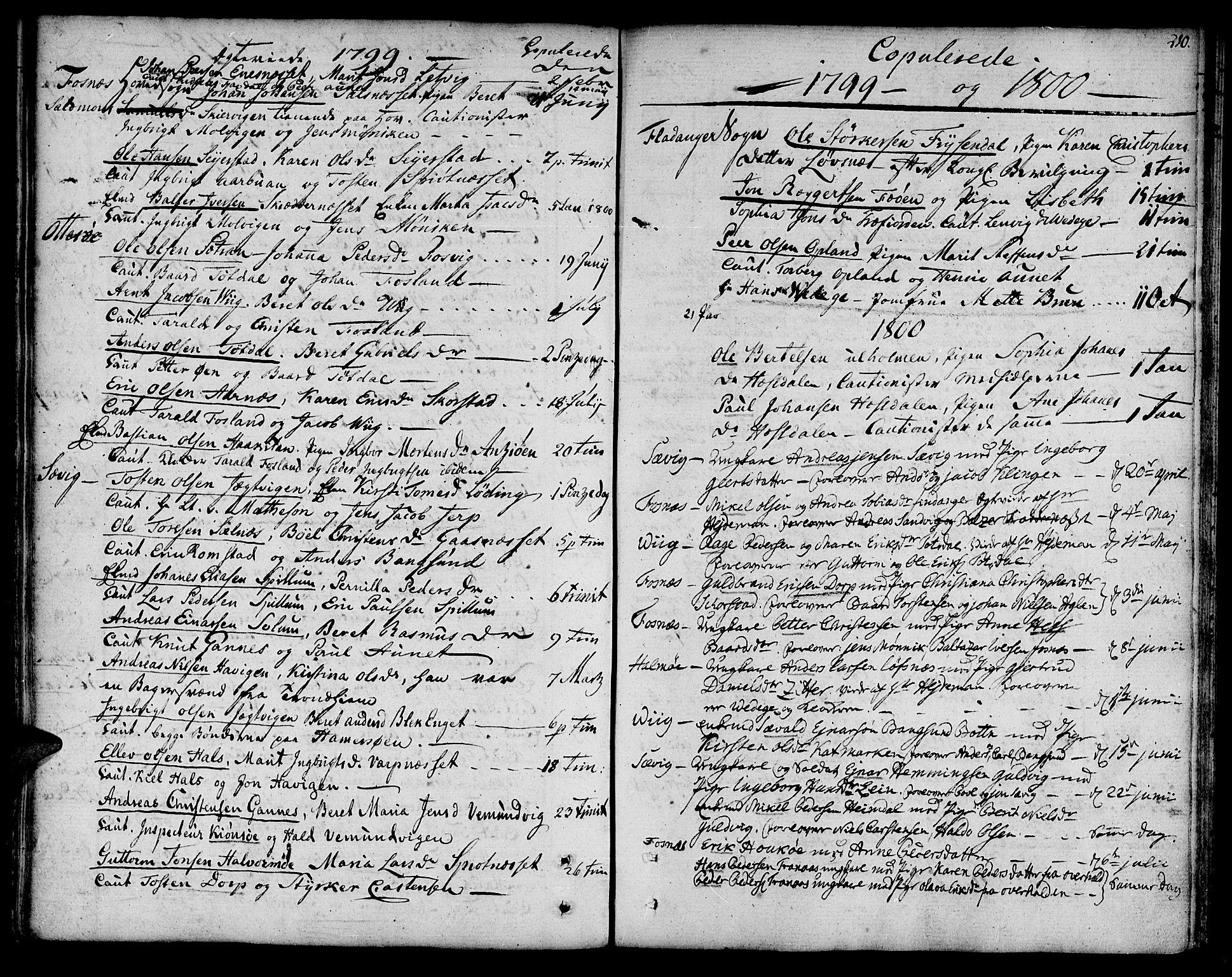 SAT, Ministerialprotokoller, klokkerbøker og fødselsregistre - Nord-Trøndelag, 773/L0608: Ministerialbok nr. 773A02, 1784-1816, s. 210