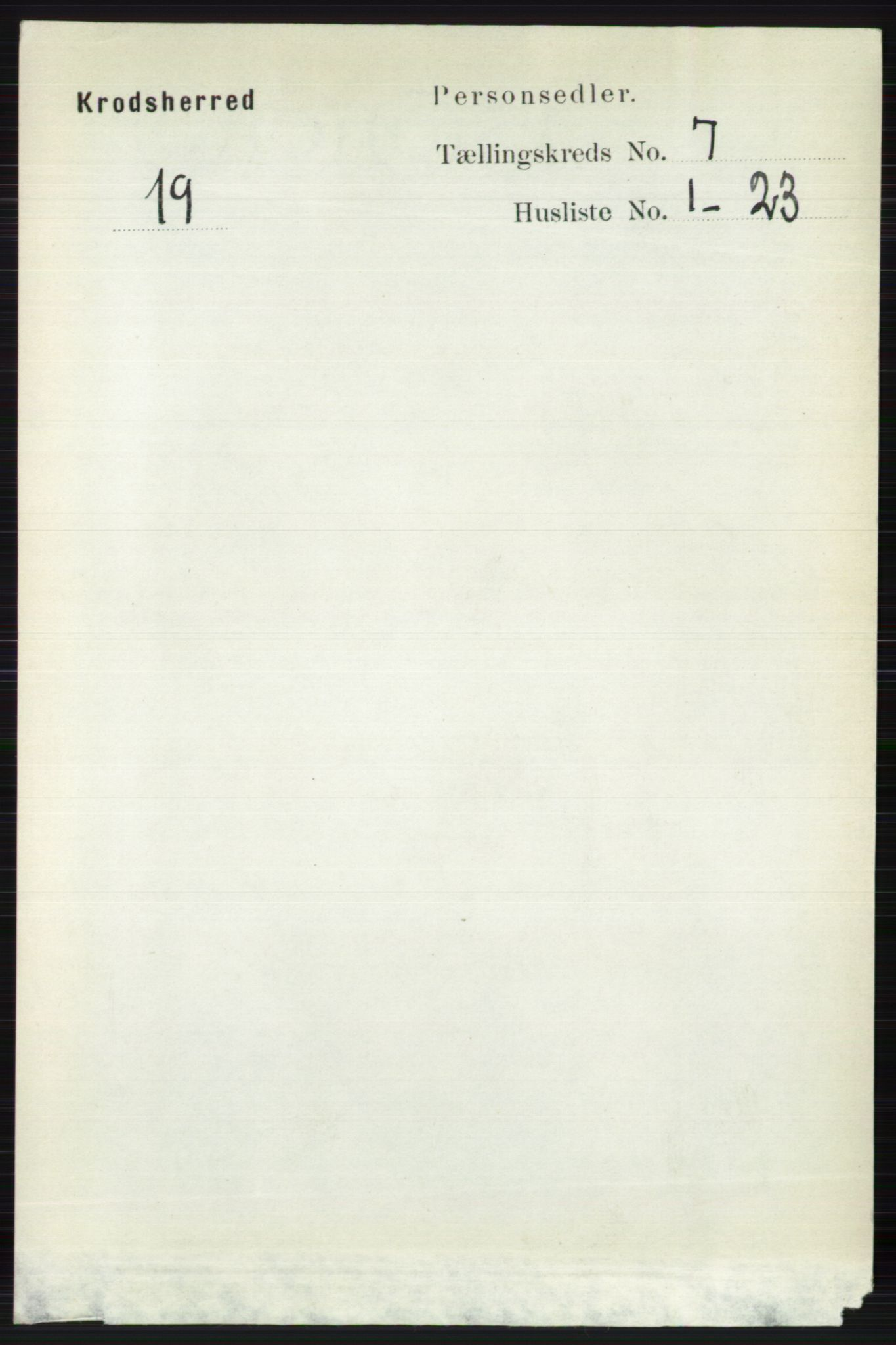 RA, Folketelling 1891 for 0621 Sigdal herred, 1891, s. 7022