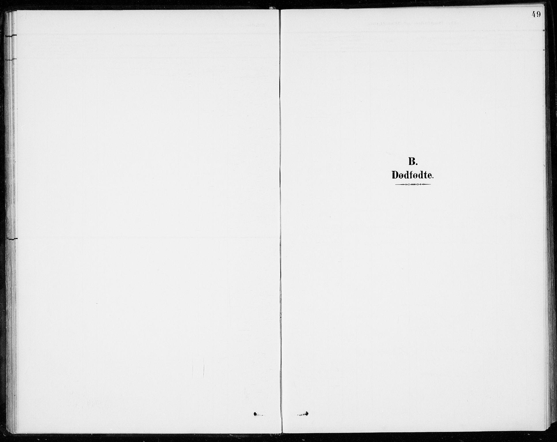SAKO, Sigdal kirkebøker, F/Fc/L0002: Ministerialbok nr. III 2, 1894-1911, s. 49