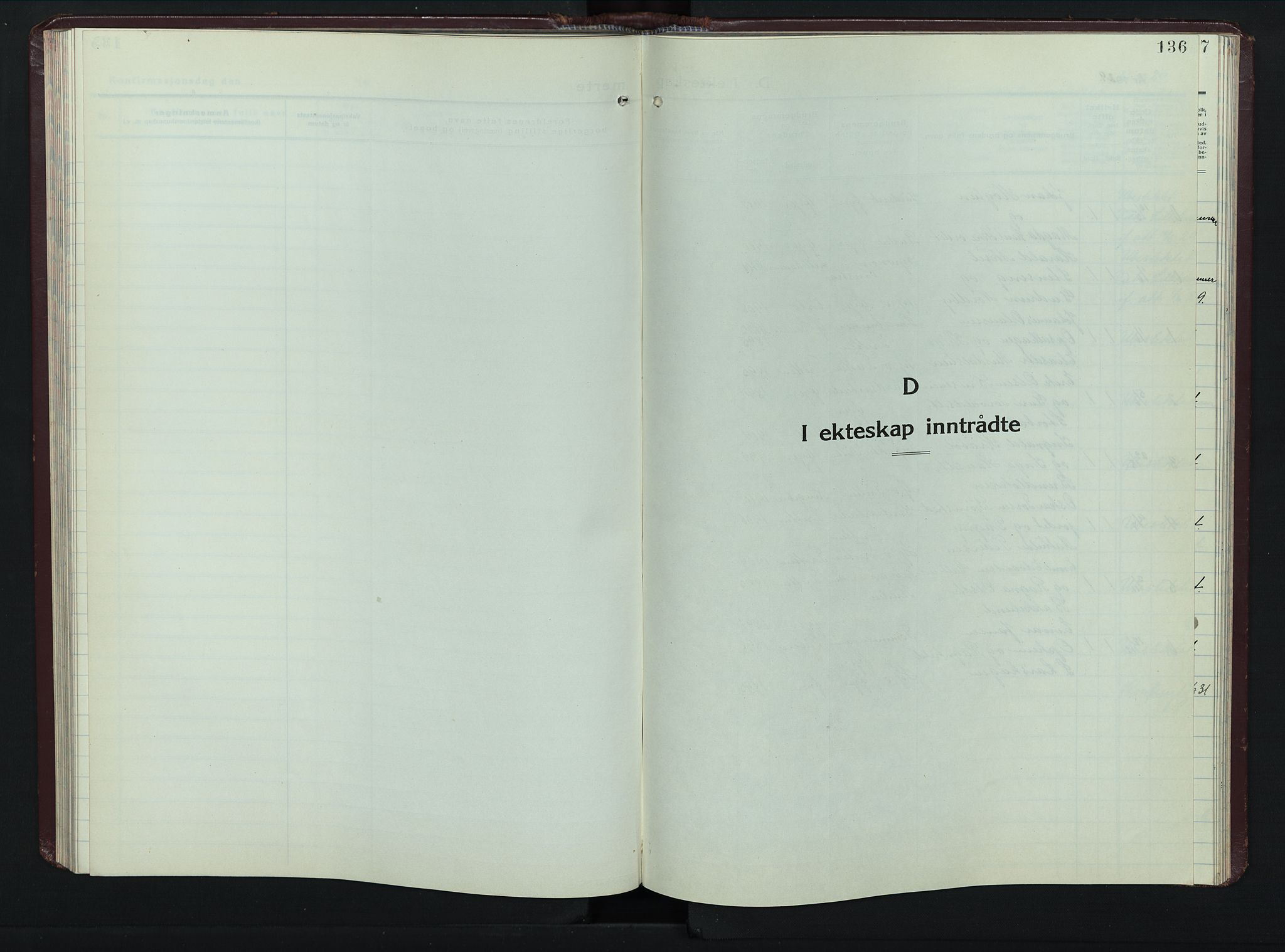 SAH, Øyer prestekontor, Klokkerbok nr. 8, 1929-1947, s. 136