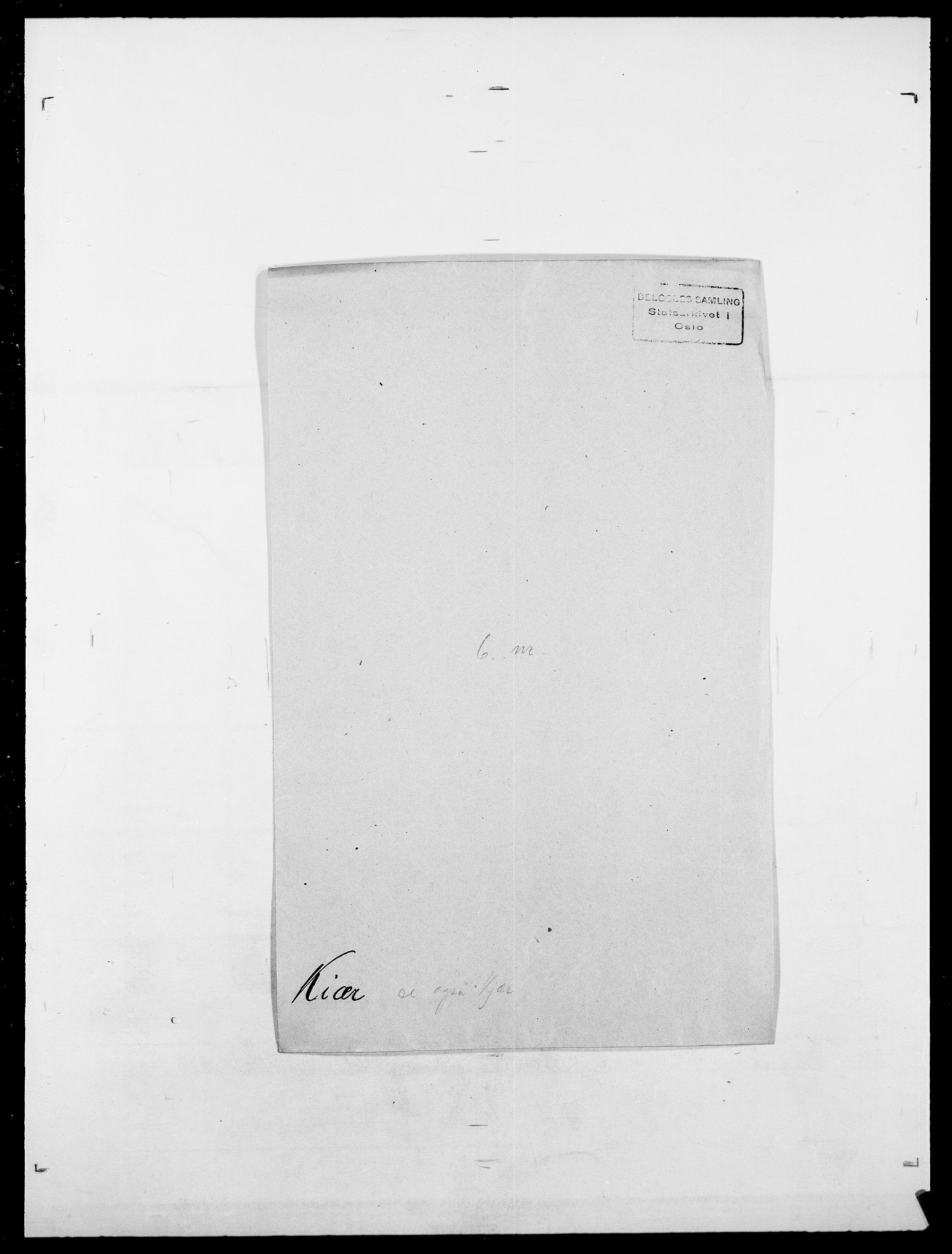SAO, Delgobe, Charles Antoine - samling, D/Da/L0020: Irgens - Kjøsterud, s. 683