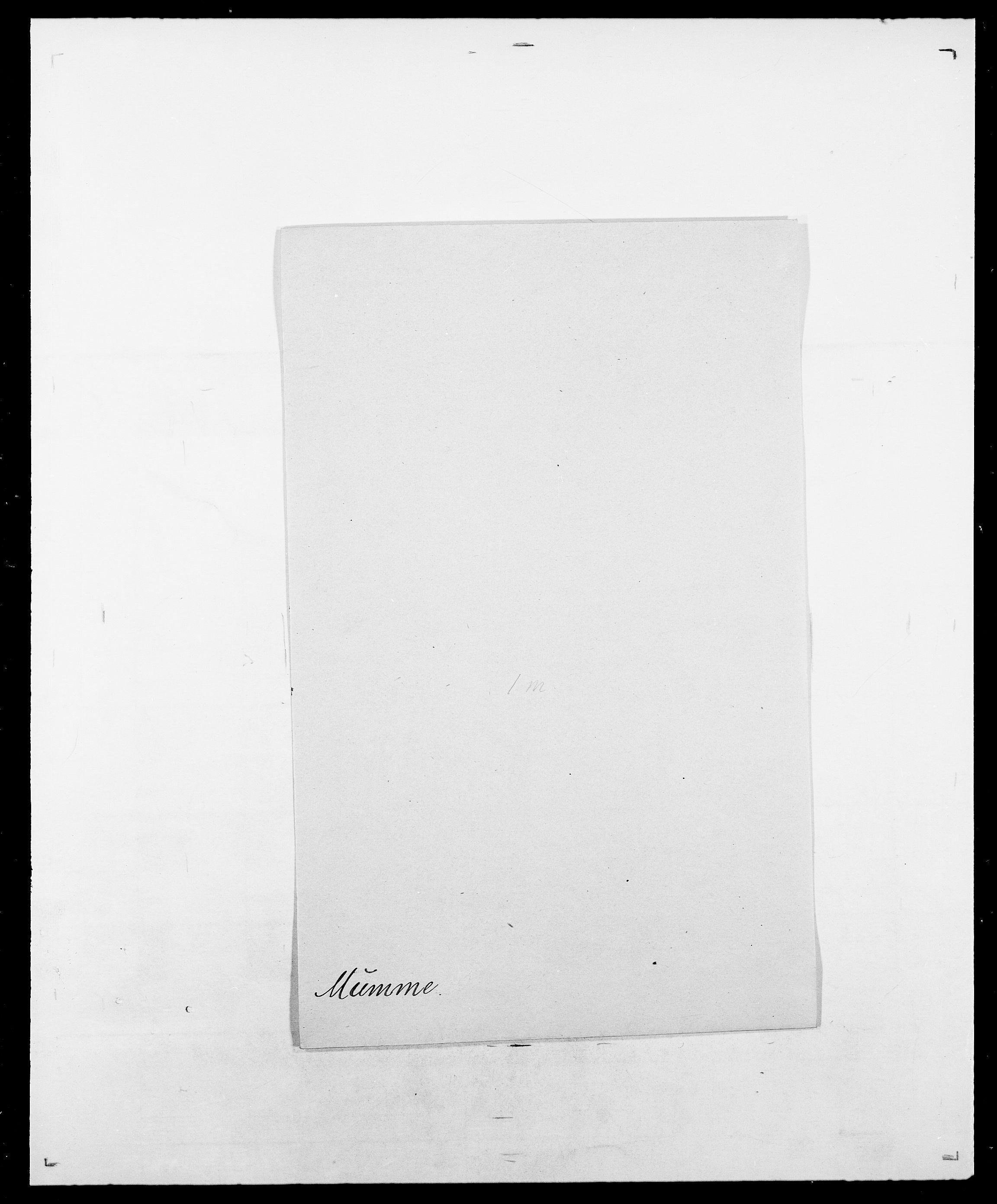 SAO, Delgobe, Charles Antoine - samling, D/Da/L0027: Morath - v. Møsting, s. 146
