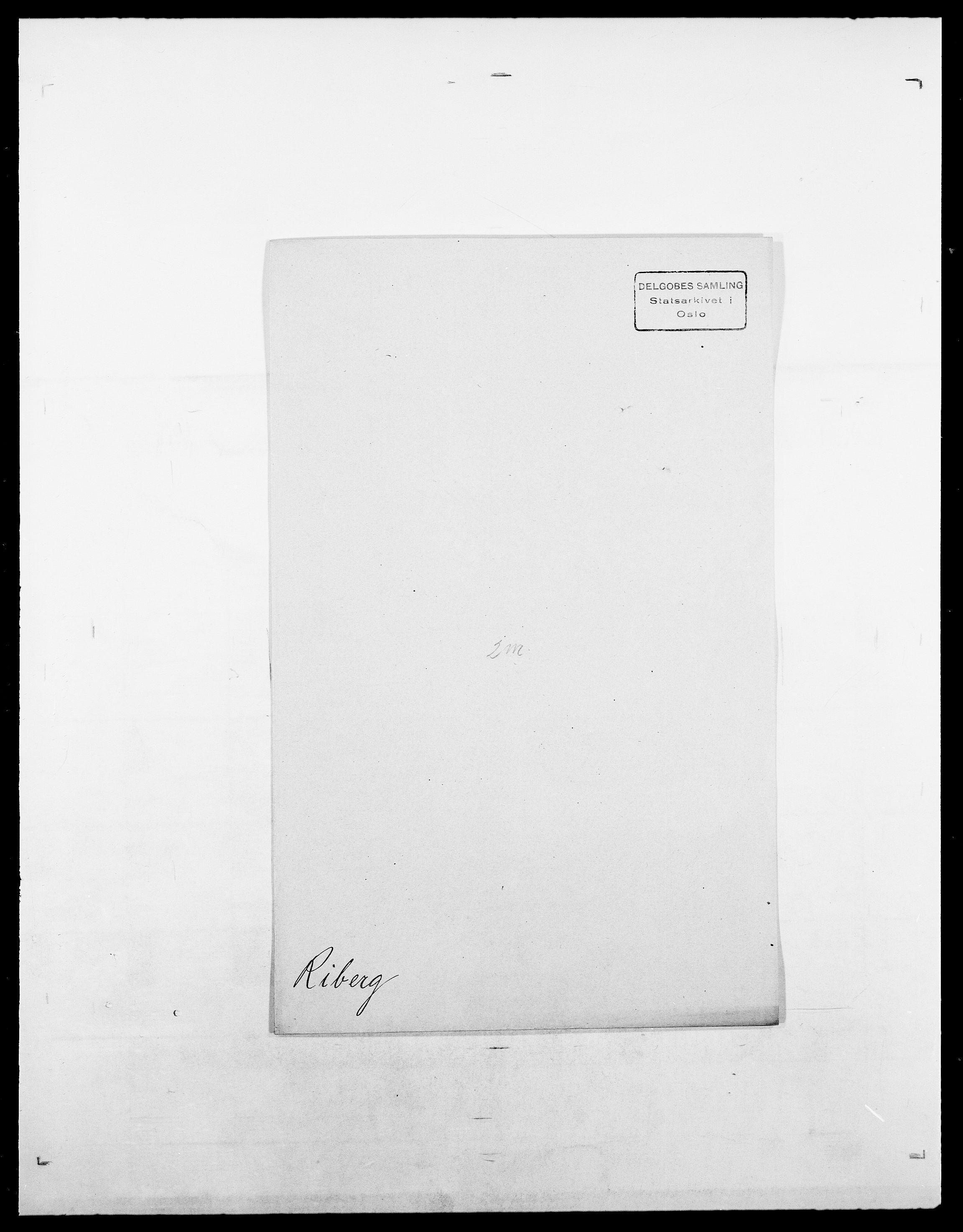 SAO, Delgobe, Charles Antoine - samling, D/Da/L0032: Rabakovsky - Rivertz, s. 526