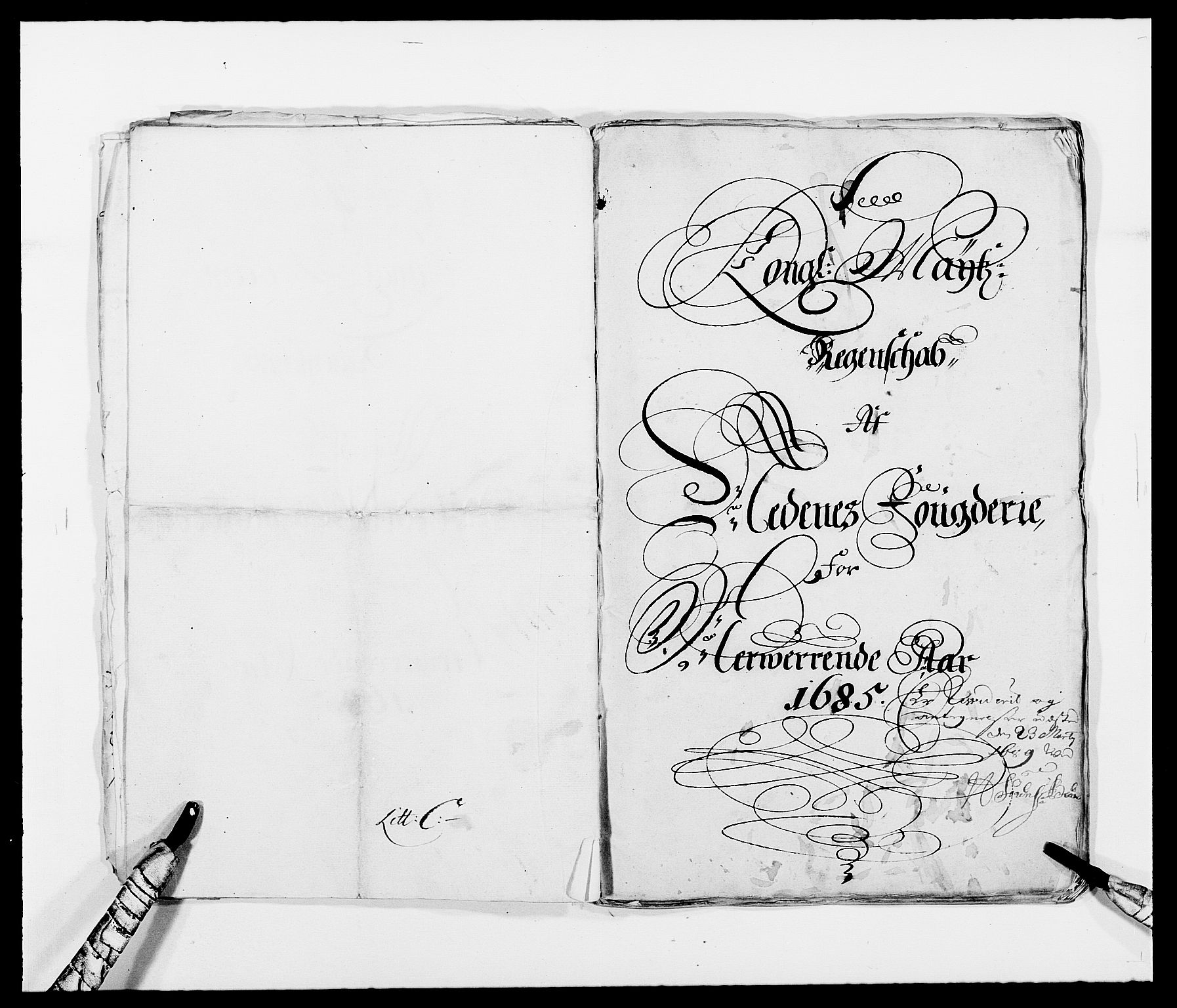 RA, Rentekammeret inntil 1814, Reviderte regnskaper, Fogderegnskap, R39/L2307: Fogderegnskap Nedenes, 1684-1689, s. 21
