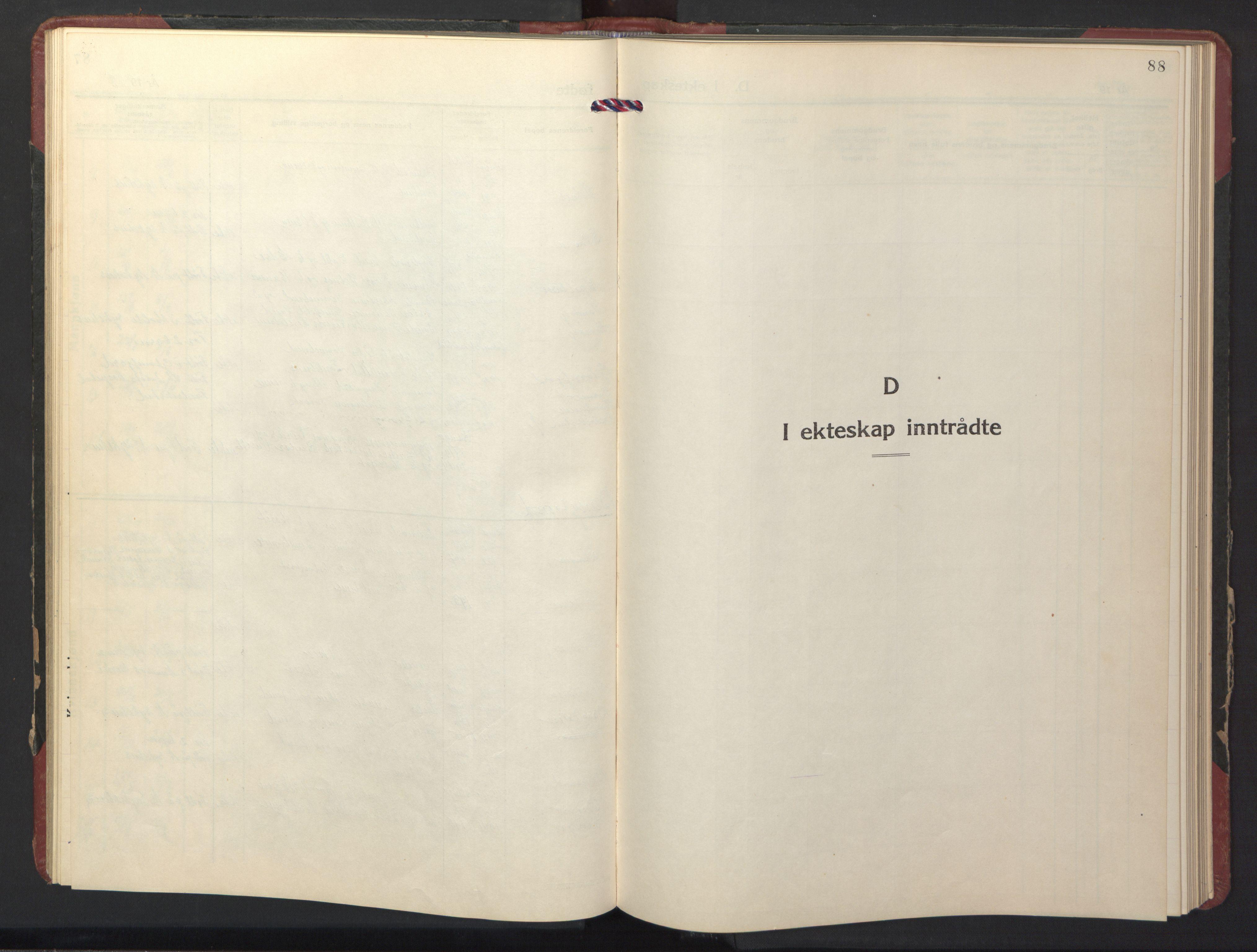 SAT, Ministerialprotokoller, klokkerbøker og fødselsregistre - Nord-Trøndelag, 770/L0592: Klokkerbok nr. 770C03, 1941-1950, s. 88