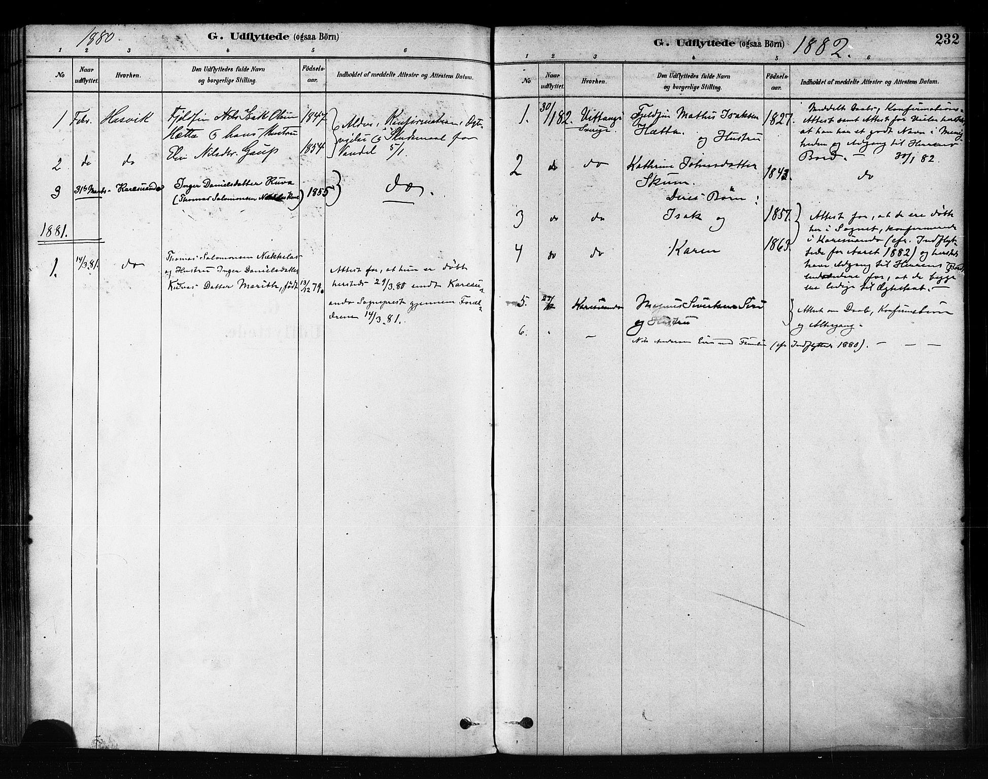 SATØ, Kautokeino sokneprestembete, H/Ha/L0004.kirke: Ministerialbok nr. 4, 1877-1896, s. 232