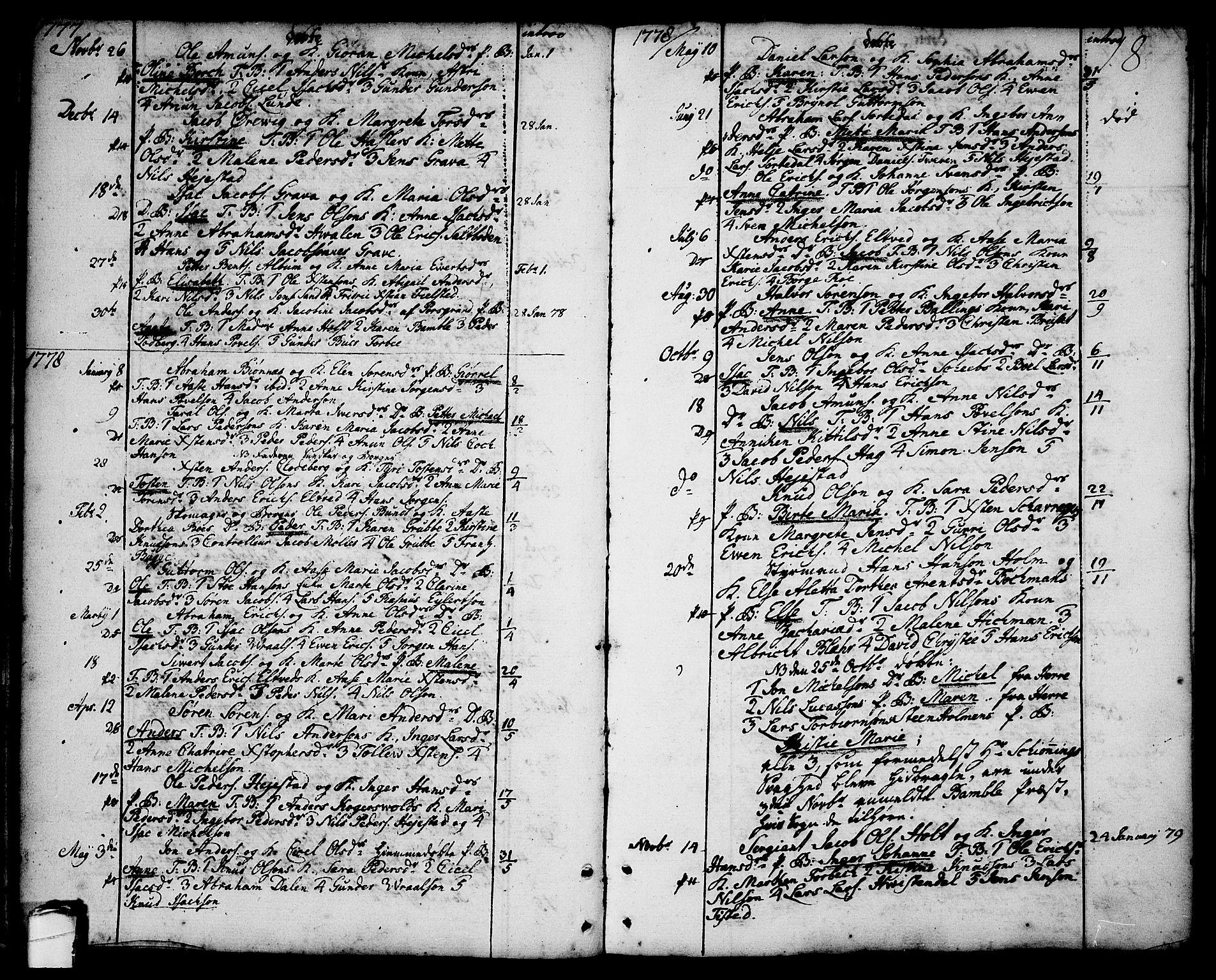 SAKO, Brevik kirkebøker, F/Fa/L0003: Ministerialbok nr. 3, 1764-1814, s. 18