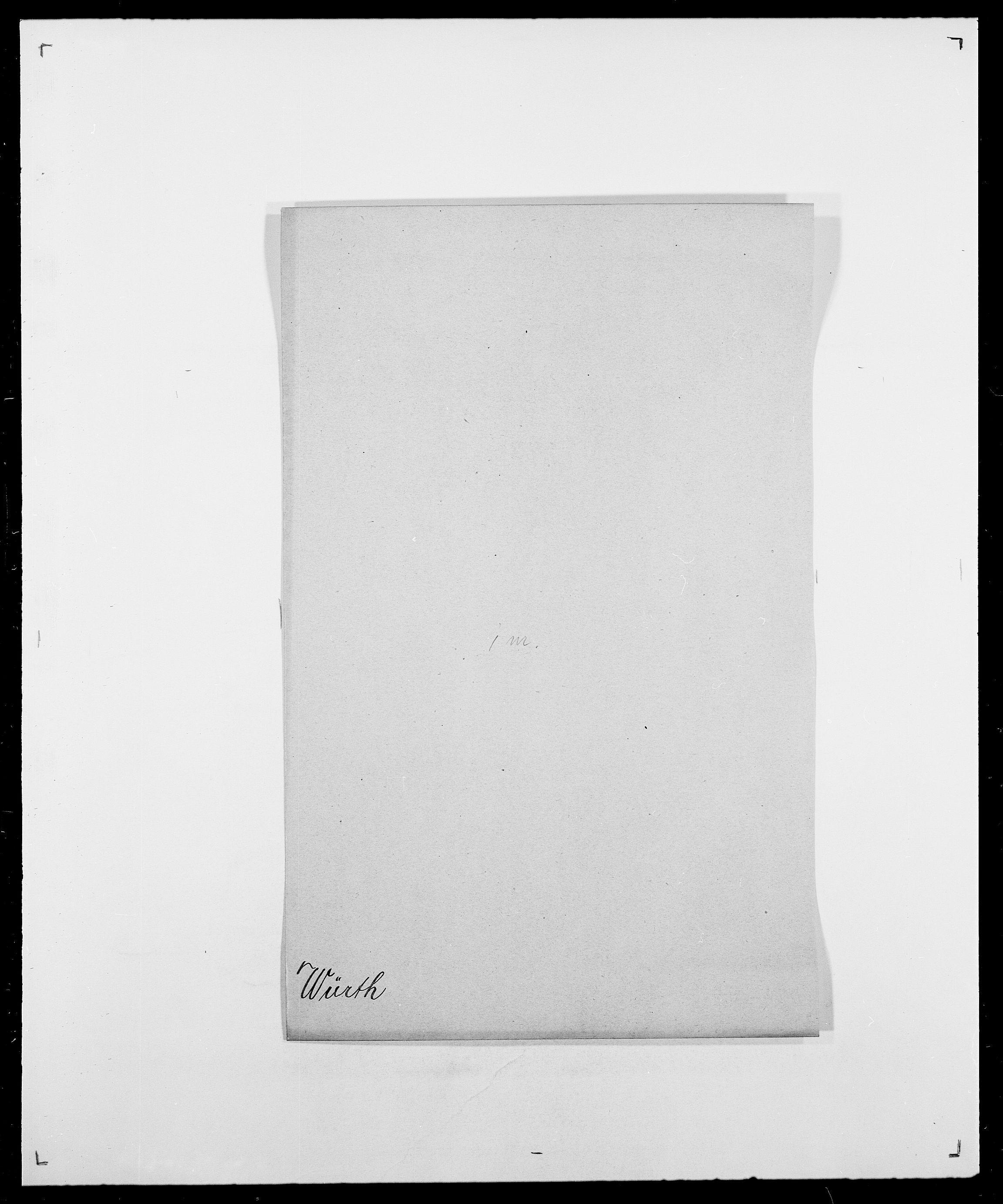 SAO, Delgobe, Charles Antoine - samling, D/Da/L0043: Wulfsberg - v. Zanten, s. 23