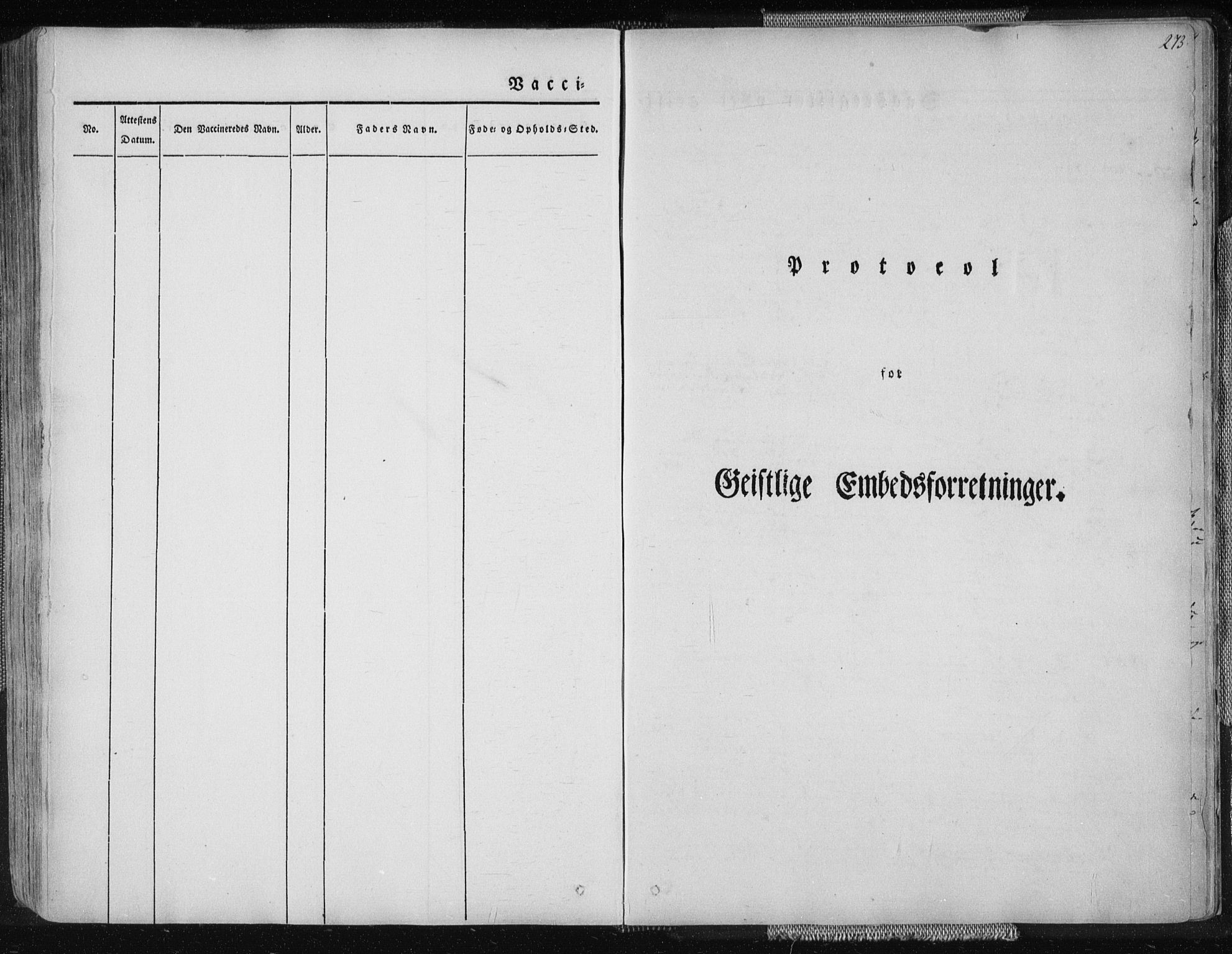 SAT, Ministerialprotokoller, klokkerbøker og fødselsregistre - Nordland, 827/L0390: Ministerialbok nr. 827A02, 1826-1841, s. 273