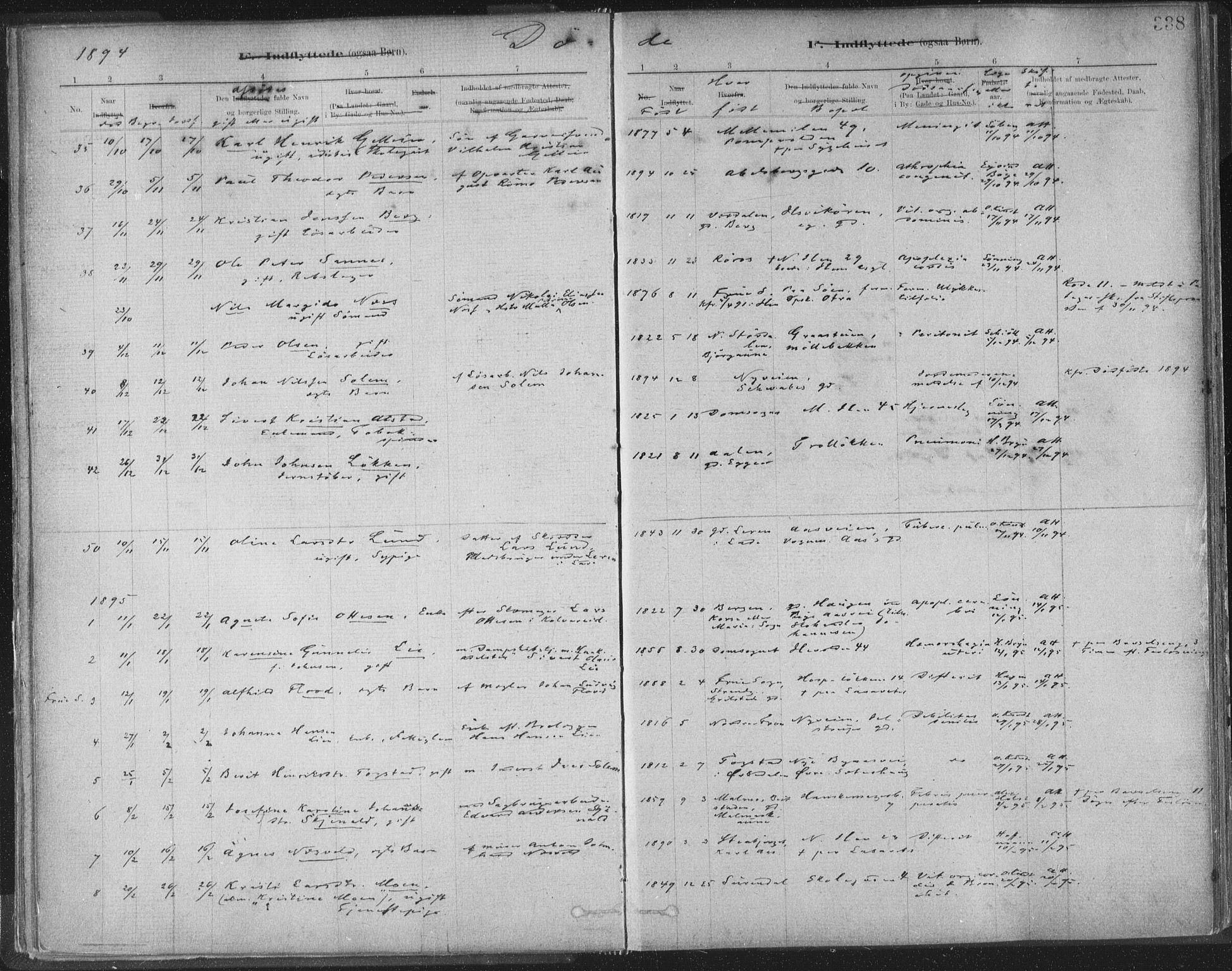 SAT, Ministerialprotokoller, klokkerbøker og fødselsregistre - Sør-Trøndelag, 603/L0163: Ministerialbok nr. 603A02, 1879-1895, s. 338