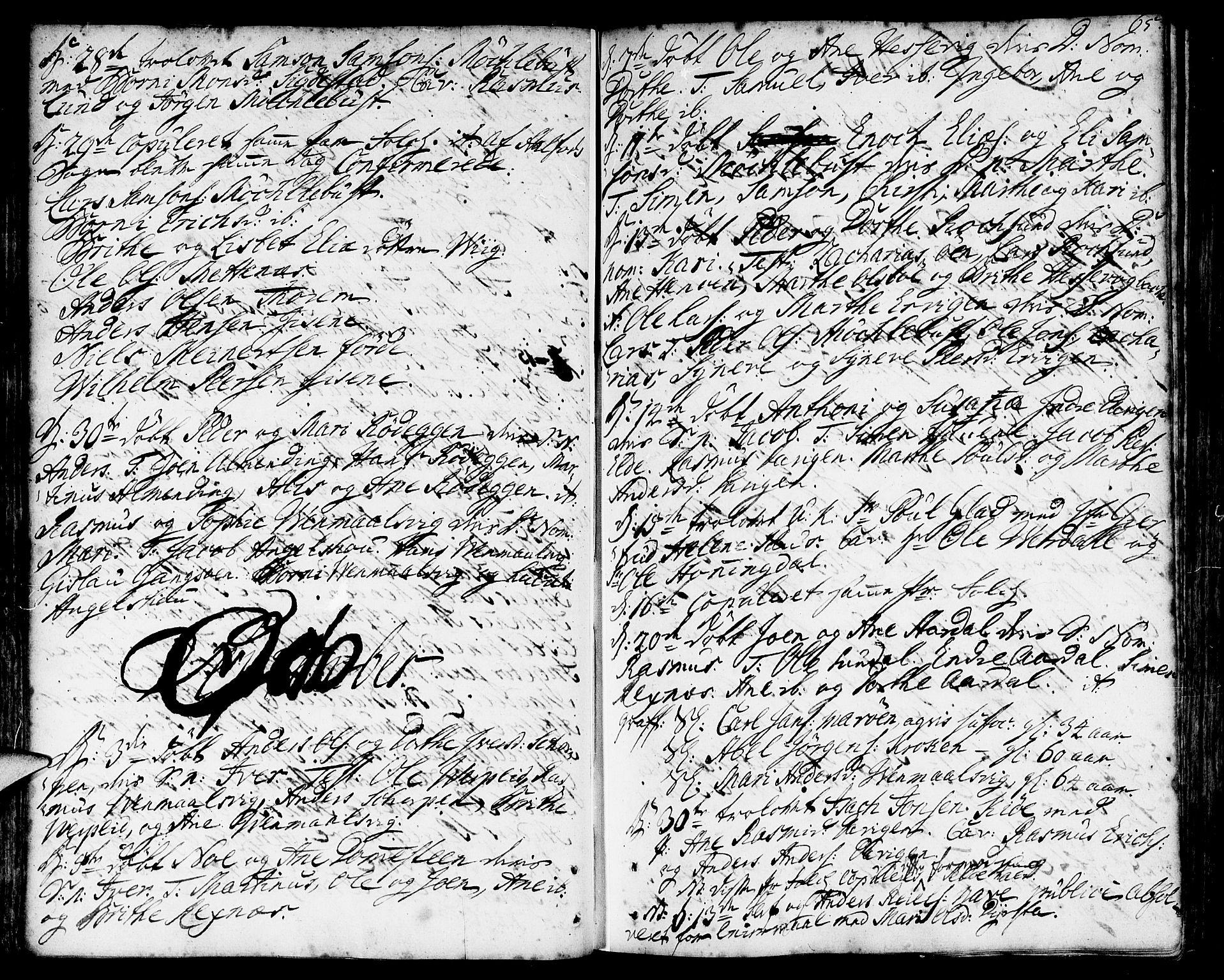 SAB, Davik sokneprestembete, Ministerialbok nr. A 2, 1742-1816, s. 65