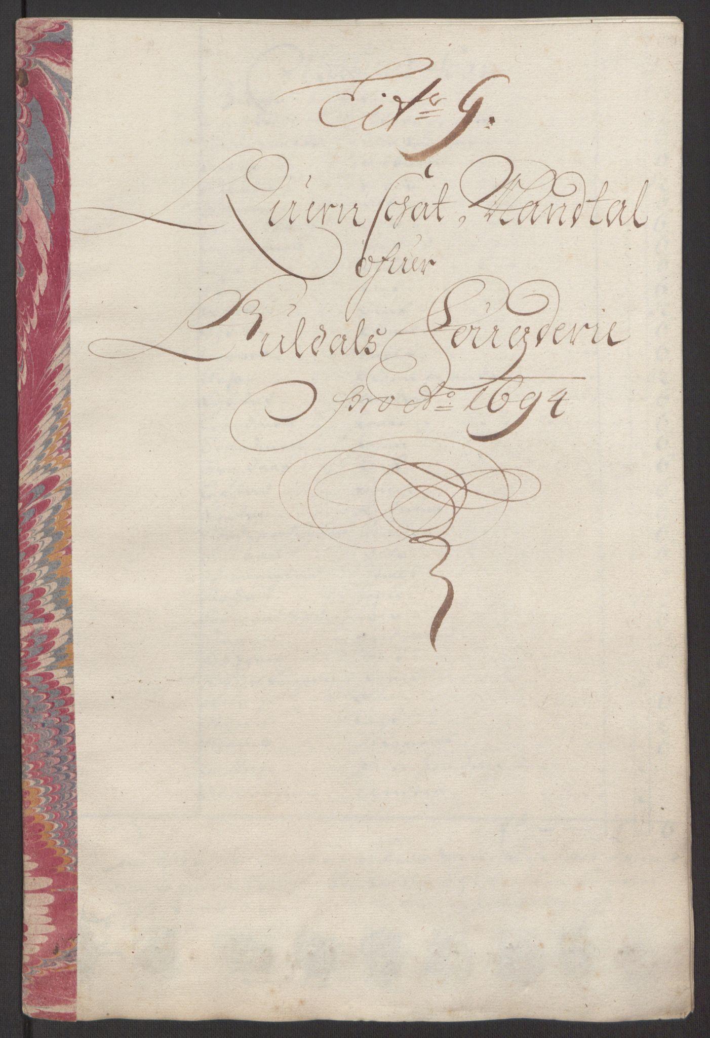 RA, Rentekammeret inntil 1814, Reviderte regnskaper, Fogderegnskap, R60/L3944: Fogderegnskap Orkdal og Gauldal, 1694, s. 363