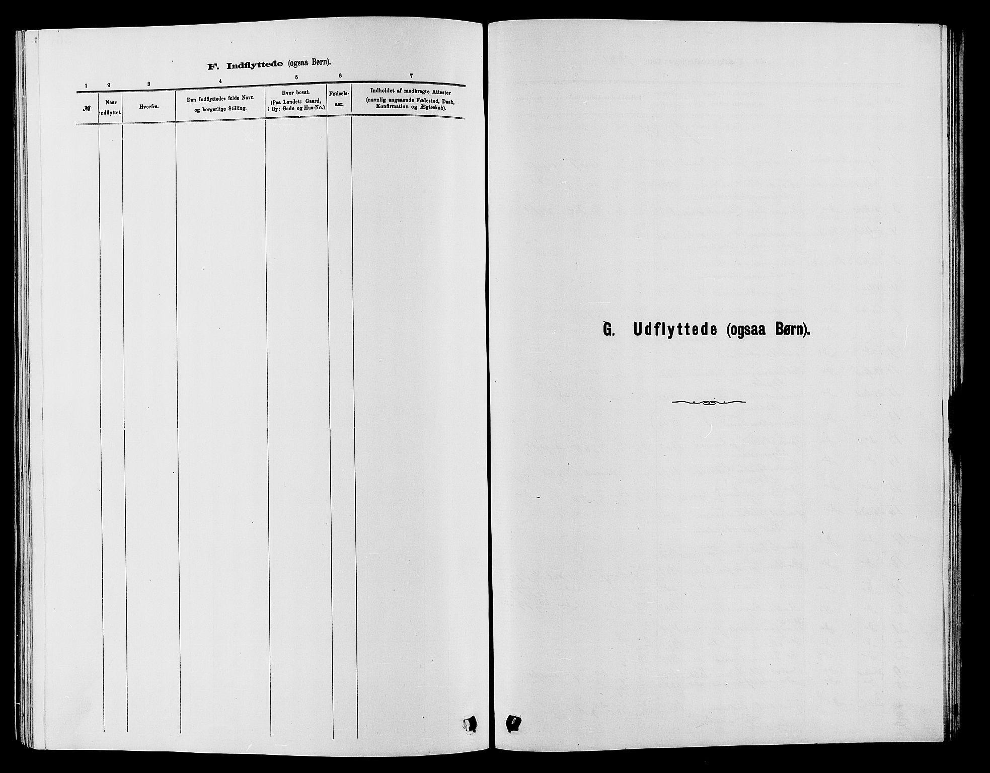 SAH, Vardal prestekontor, H/Ha/Hab/L0007: Klokkerbok nr. 7 /1, 1881-1895