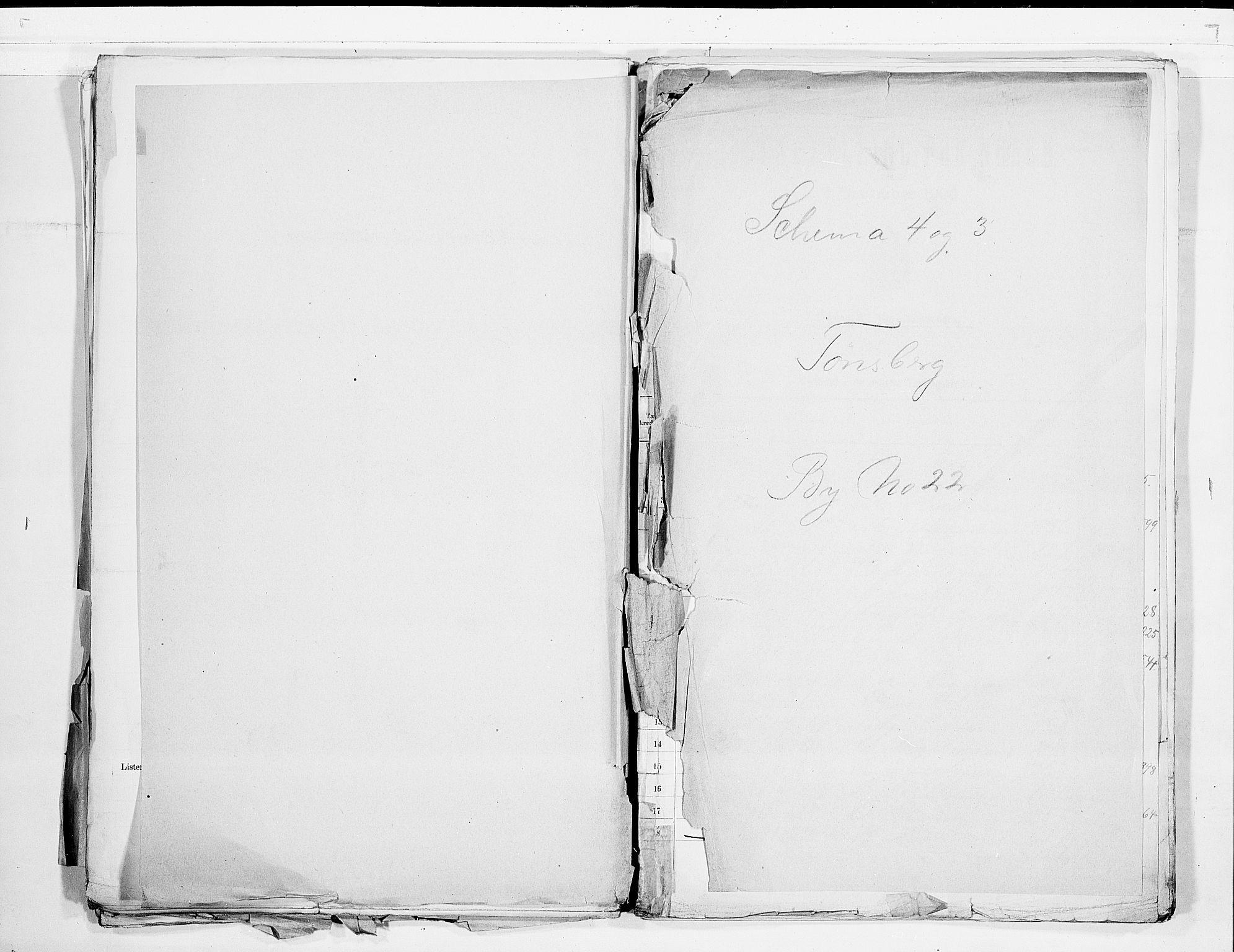 RA, Folketelling 1900 for 0705 Tønsberg kjøpstad, 1900, s. 1