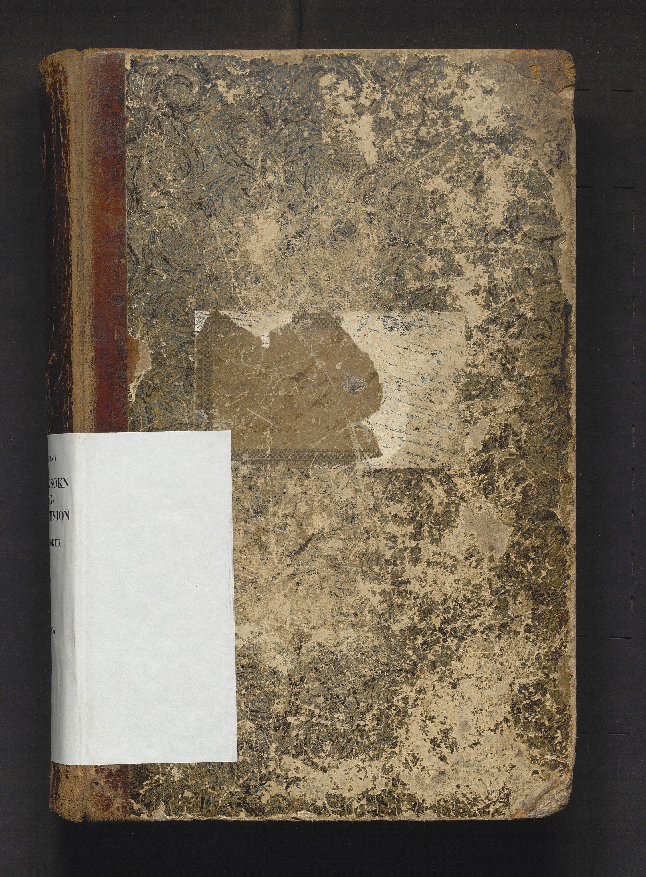 IKAH, Ulvik herad. Fattigstyret, A/Aa/L0001: Møtebok for Ulvik sokn fattigkommisjon, 1848-1876