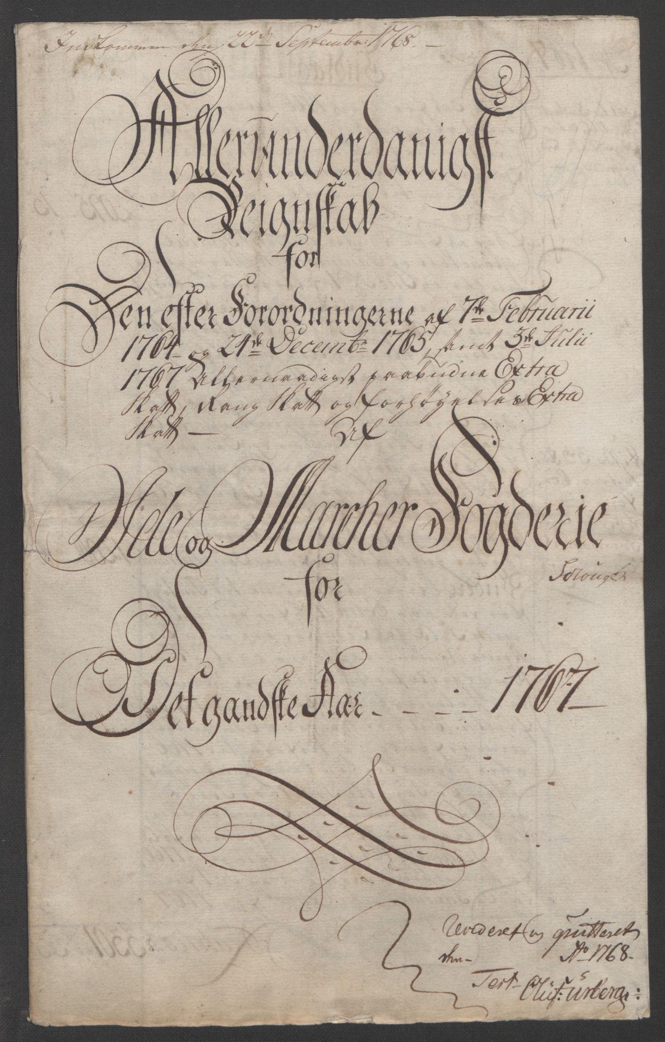 RA, Rentekammeret inntil 1814, Reviderte regnskaper, Fogderegnskap, R01/L0097: Ekstraskatten Idd og Marker, 1756-1767, s. 307