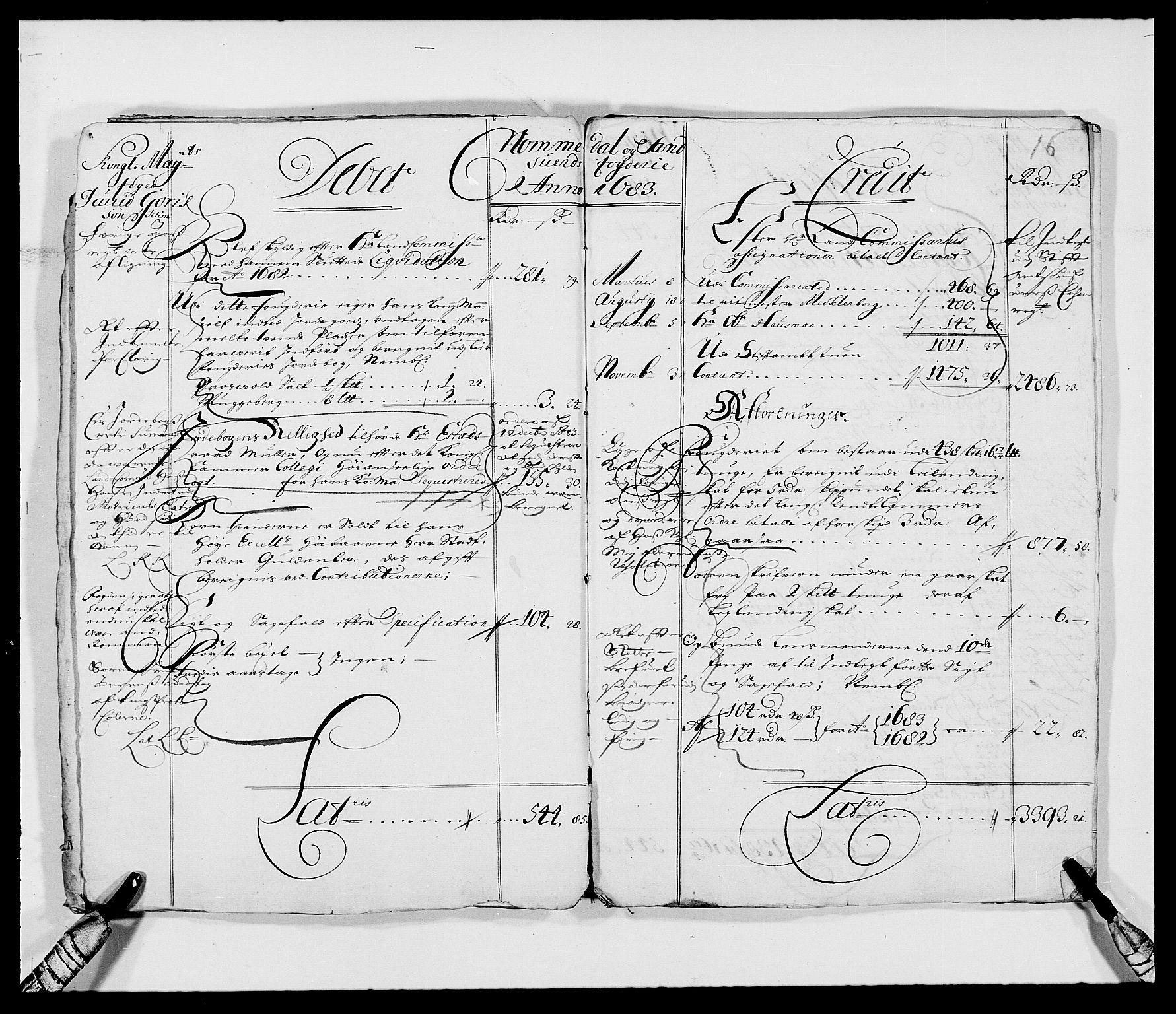 RA, Rentekammeret inntil 1814, Reviderte regnskaper, Fogderegnskap, R24/L1569: Fogderegnskap Numedal og Sandsvær, 1679-1686, s. 62