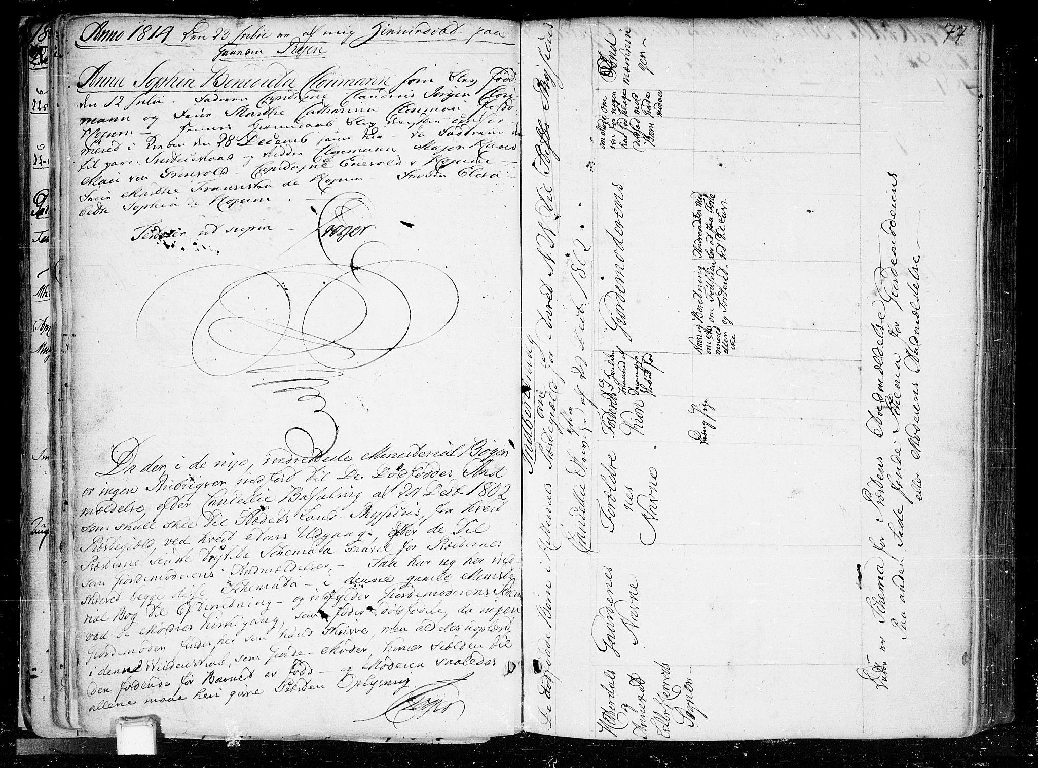 SAKO, Heddal kirkebøker, F/Fa/L0004: Ministerialbok nr. I 4, 1784-1814, s. 77