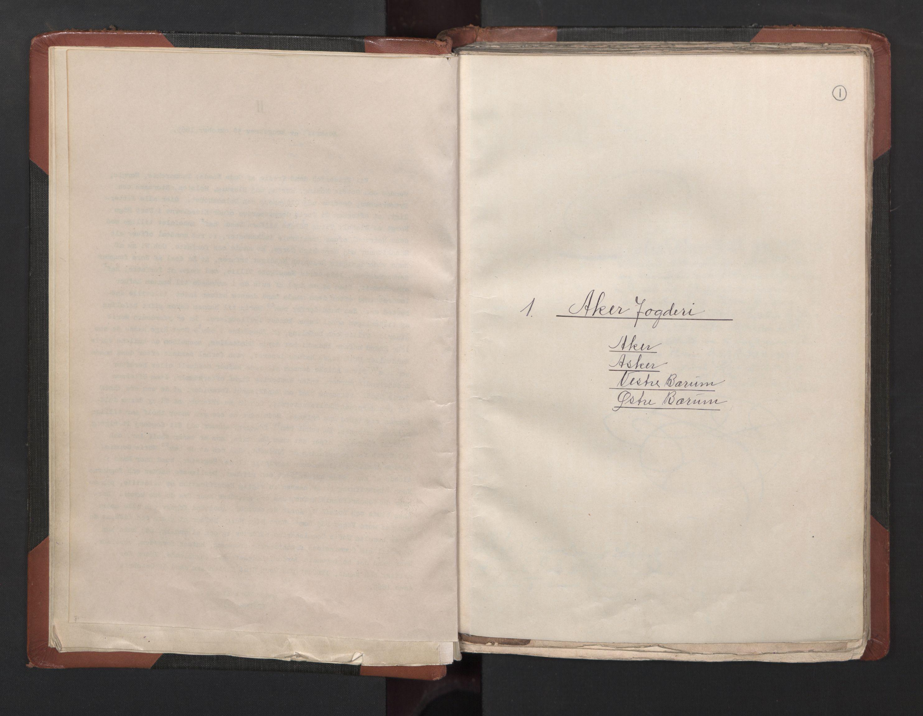 RA, Fogdenes og sorenskrivernes manntall 1664-1666, nr. 2: Aker fogderi, Follo fogderi, Nedre Romerike fogderi og Øvre Romerike fogderi, 1664, s. 1