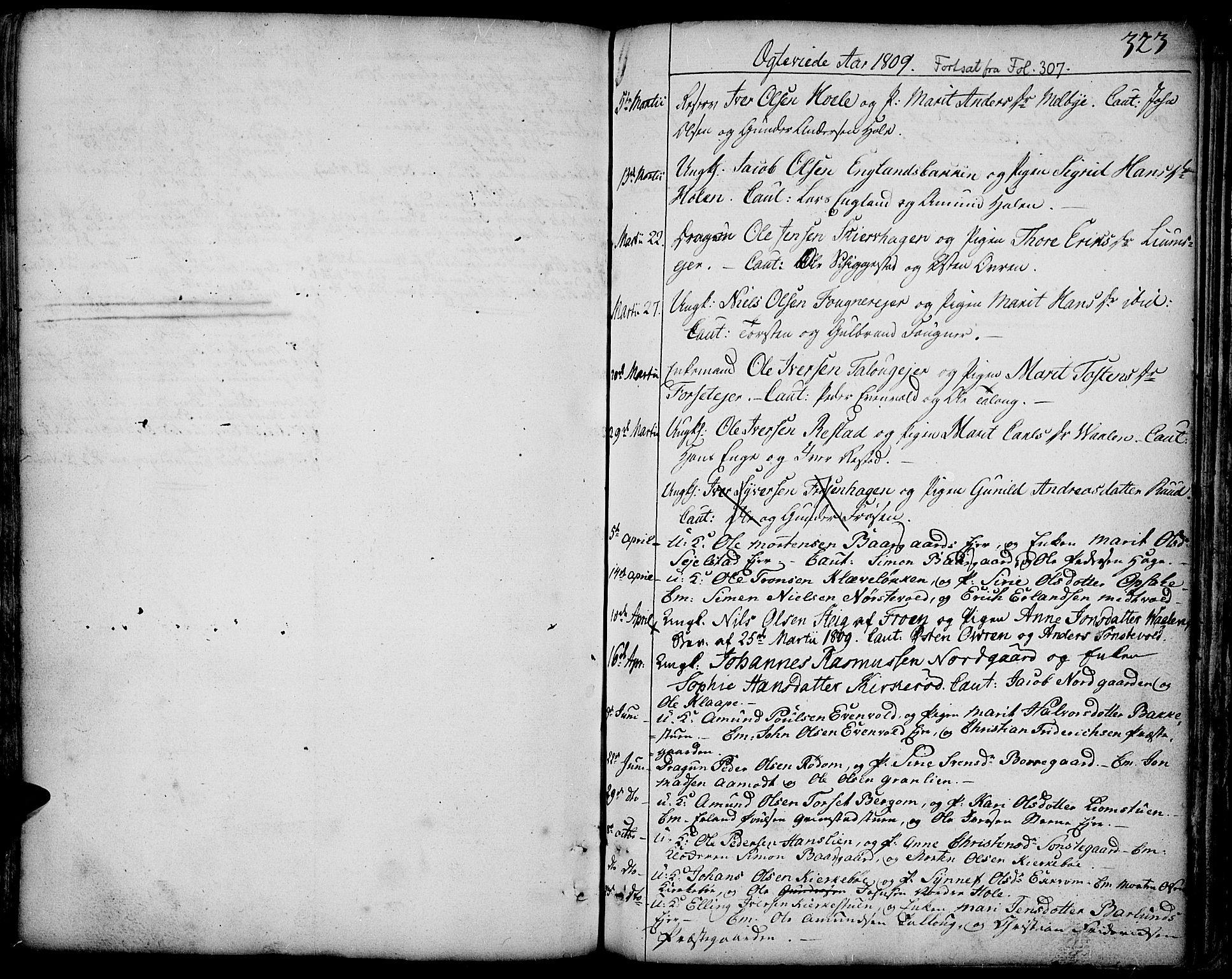 SAH, Gausdal prestekontor, Ministerialbok nr. 3, 1758-1809, s. 323