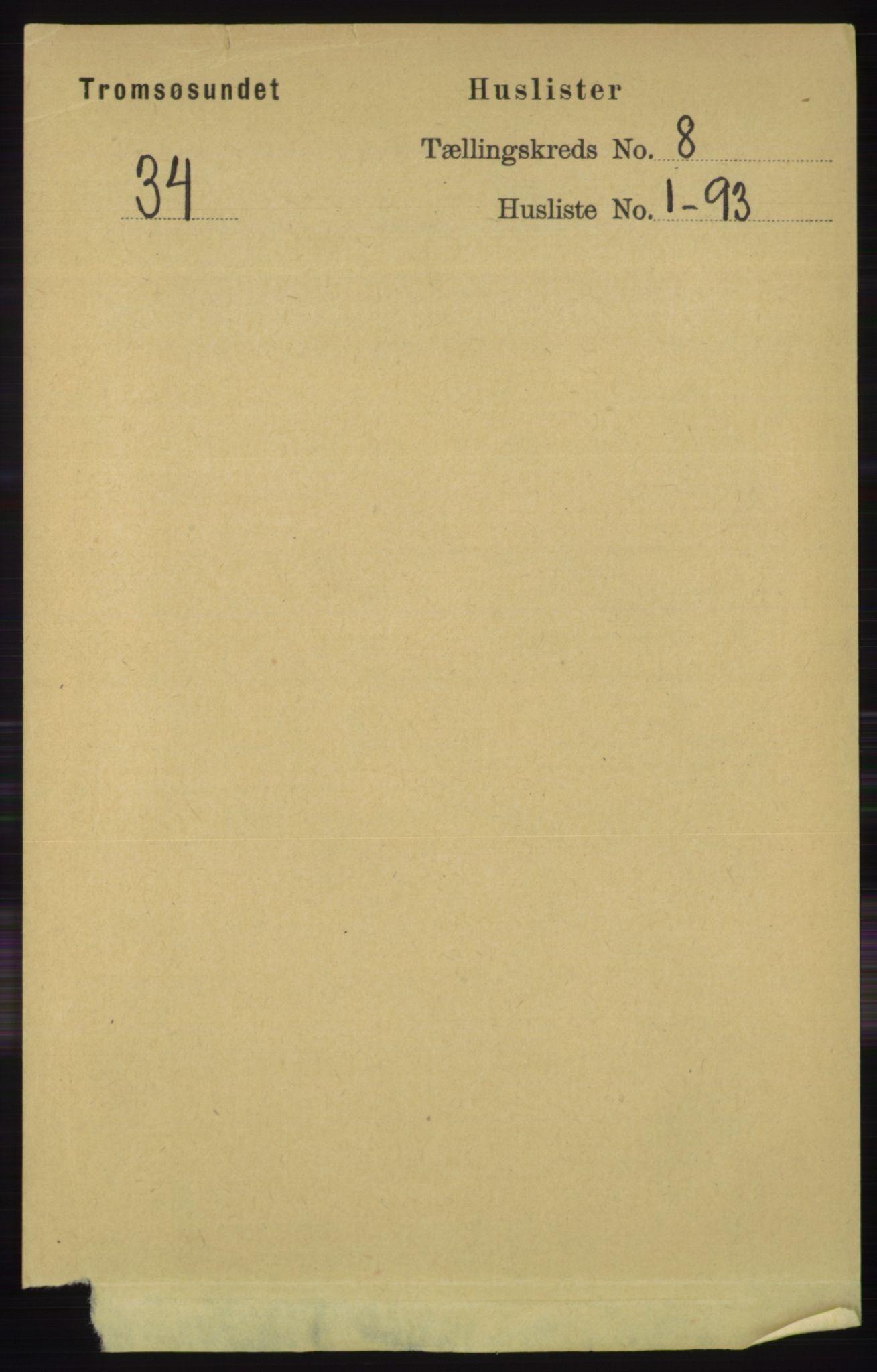 RA, Folketelling 1891 for 1934 Tromsøysund herred, 1891, s. 4348