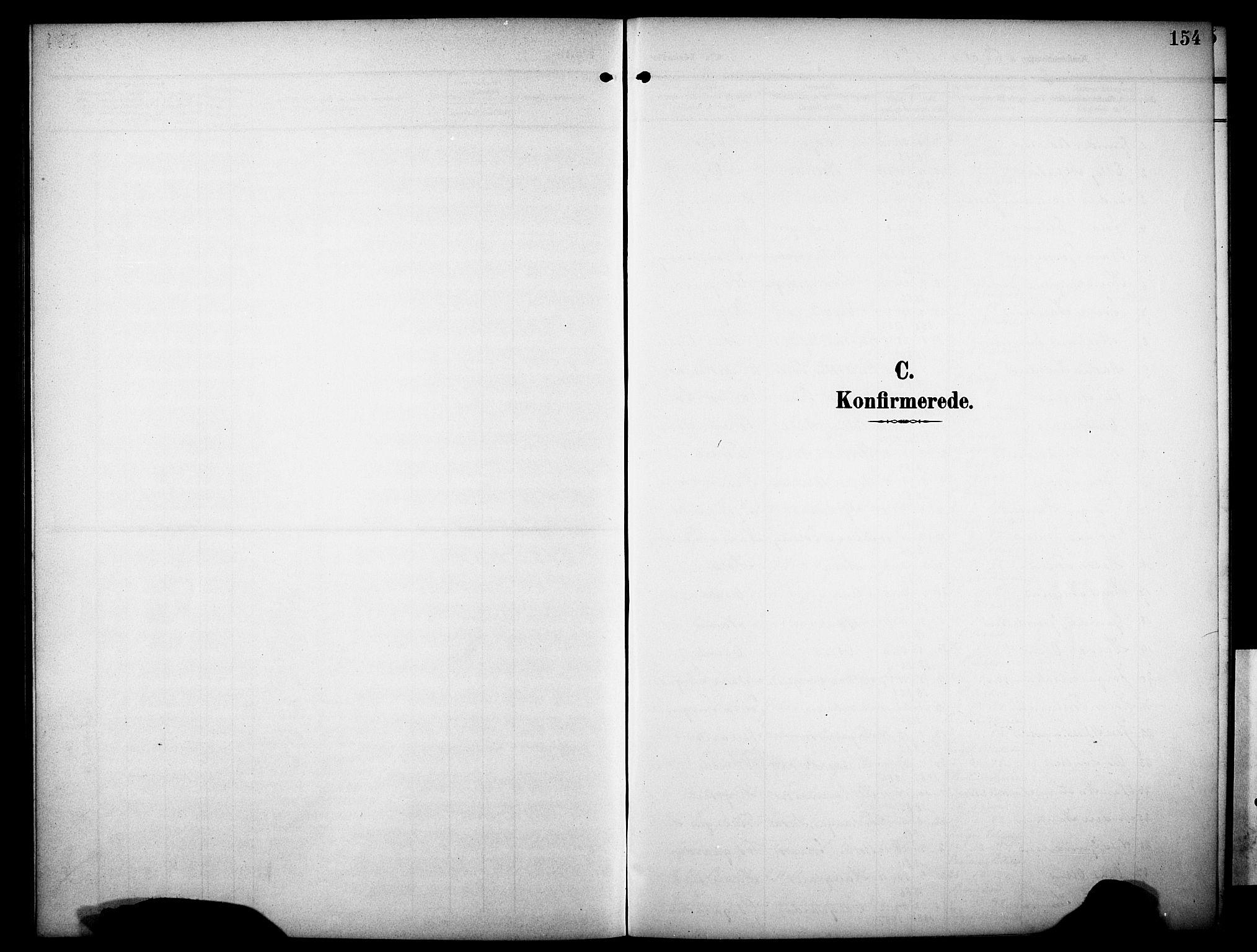 SAKO, Drangedal kirkebøker, G/Ga/L0004: Klokkerbok nr. I 4, 1901-1933, s. 154