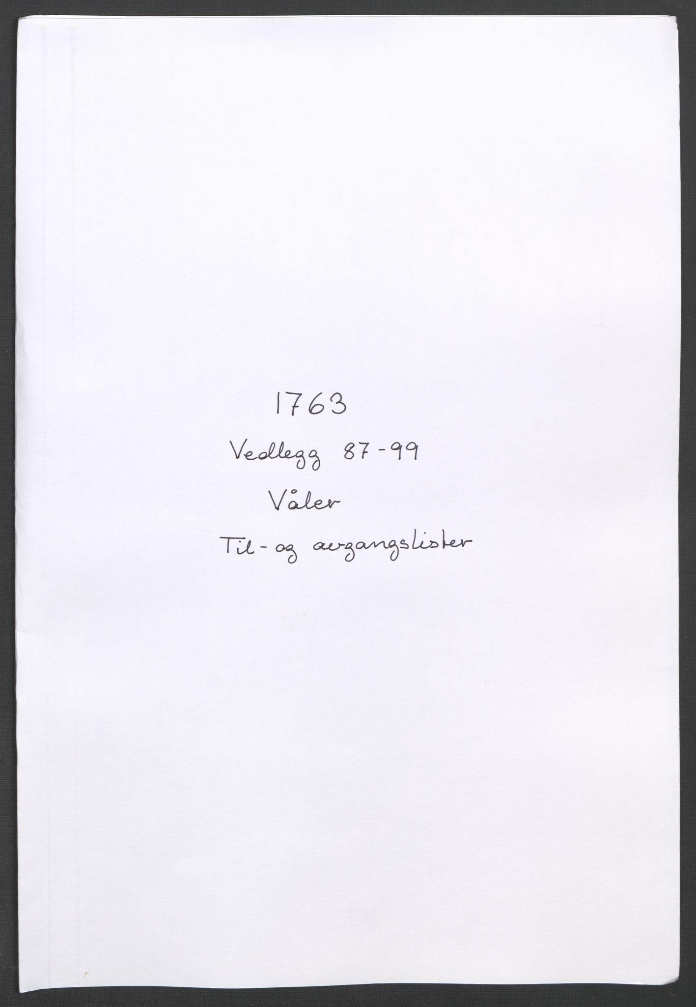 RA, Rentekammeret inntil 1814, Reviderte regnskaper, Fogderegnskap, R04/L0261: Ekstraskatten Moss, Onsøy, Tune, Veme og Åbygge, 1763, s. 232