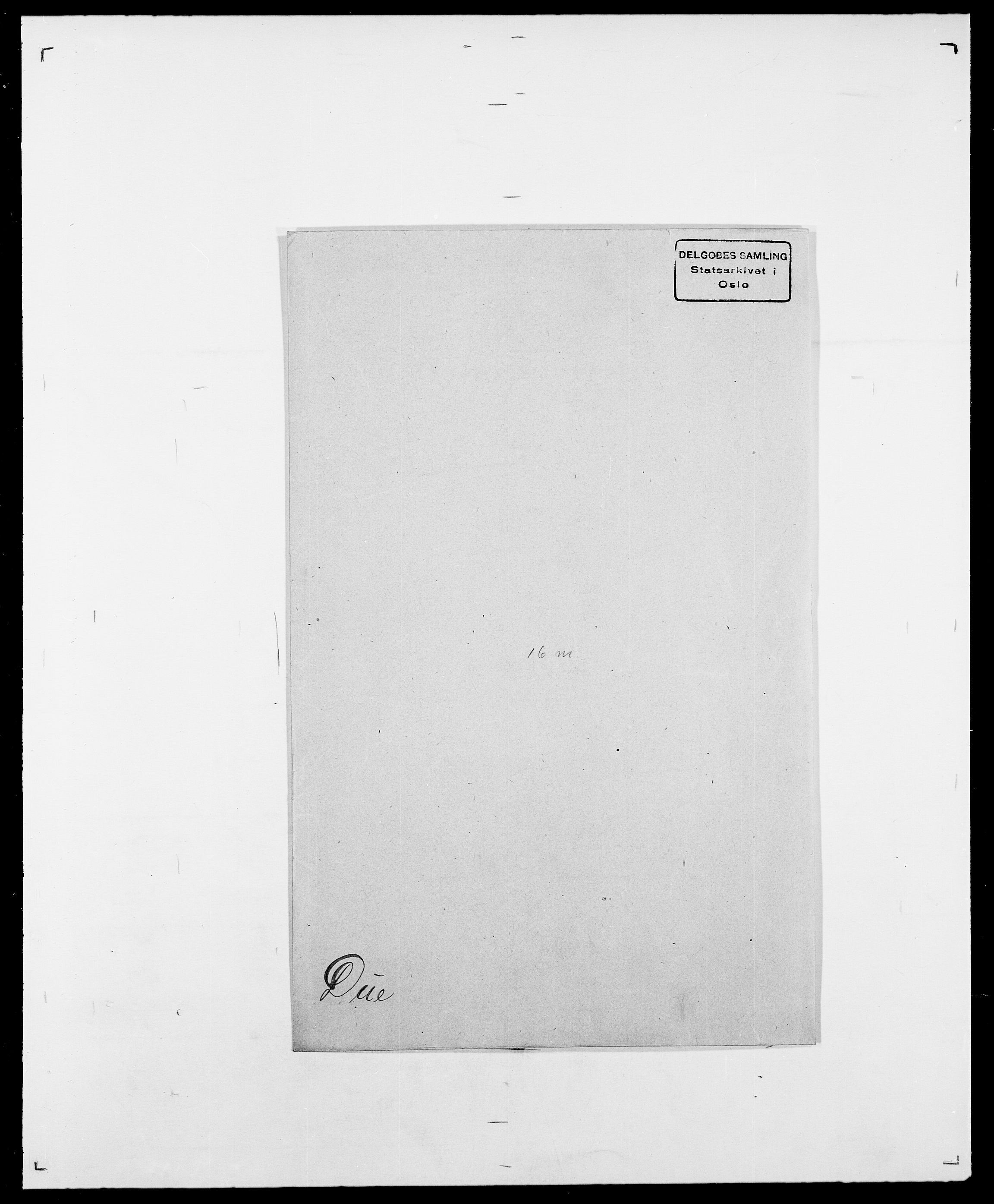 SAO, Delgobe, Charles Antoine - samling, D/Da/L0009: Dahl - v. Düren, s. 805