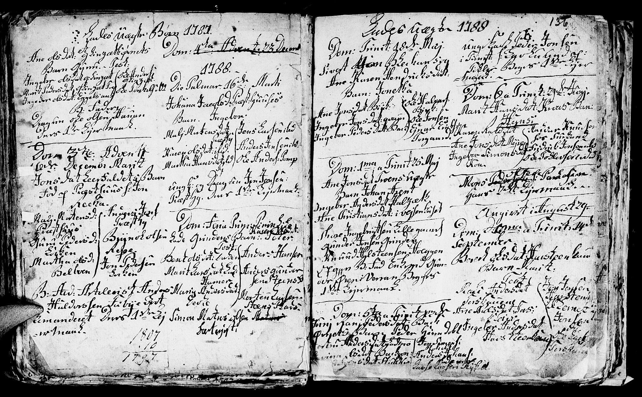 SAT, Ministerialprotokoller, klokkerbøker og fødselsregistre - Sør-Trøndelag, 606/L0305: Klokkerbok nr. 606C01, 1757-1819, s. 136