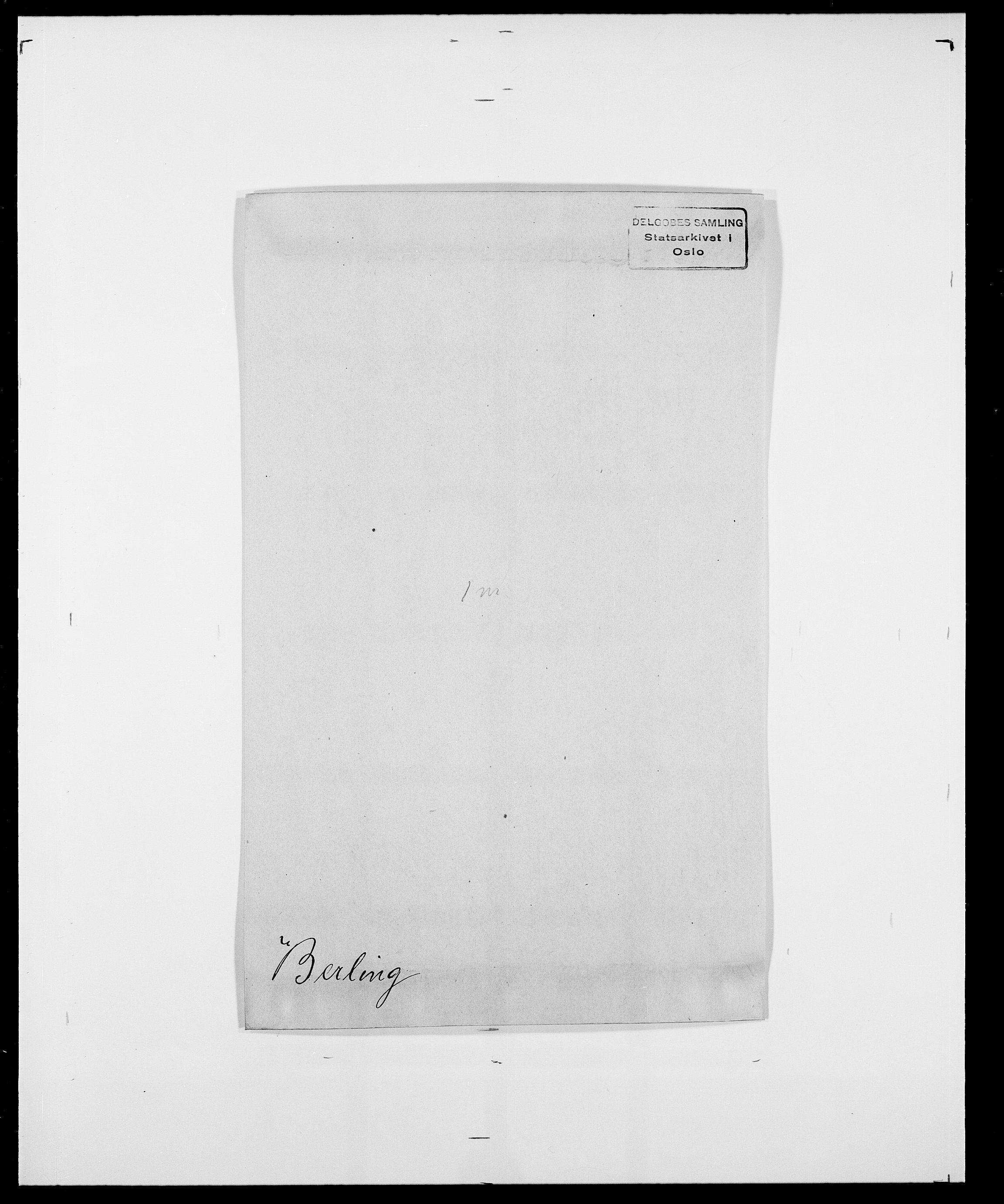 SAO, Delgobe, Charles Antoine - samling, D/Da/L0004: Bergendahl - Blære, s. 66