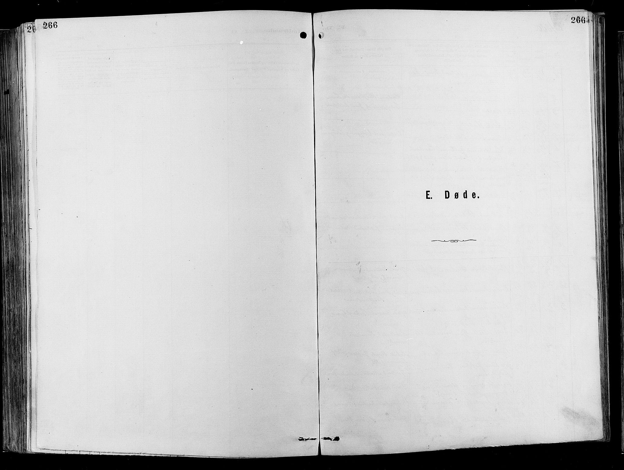 SAO, Garnisonsmenigheten Kirkebøker, F/Fa/L0012: Ministerialbok nr. 12, 1880-1893, s. 266
