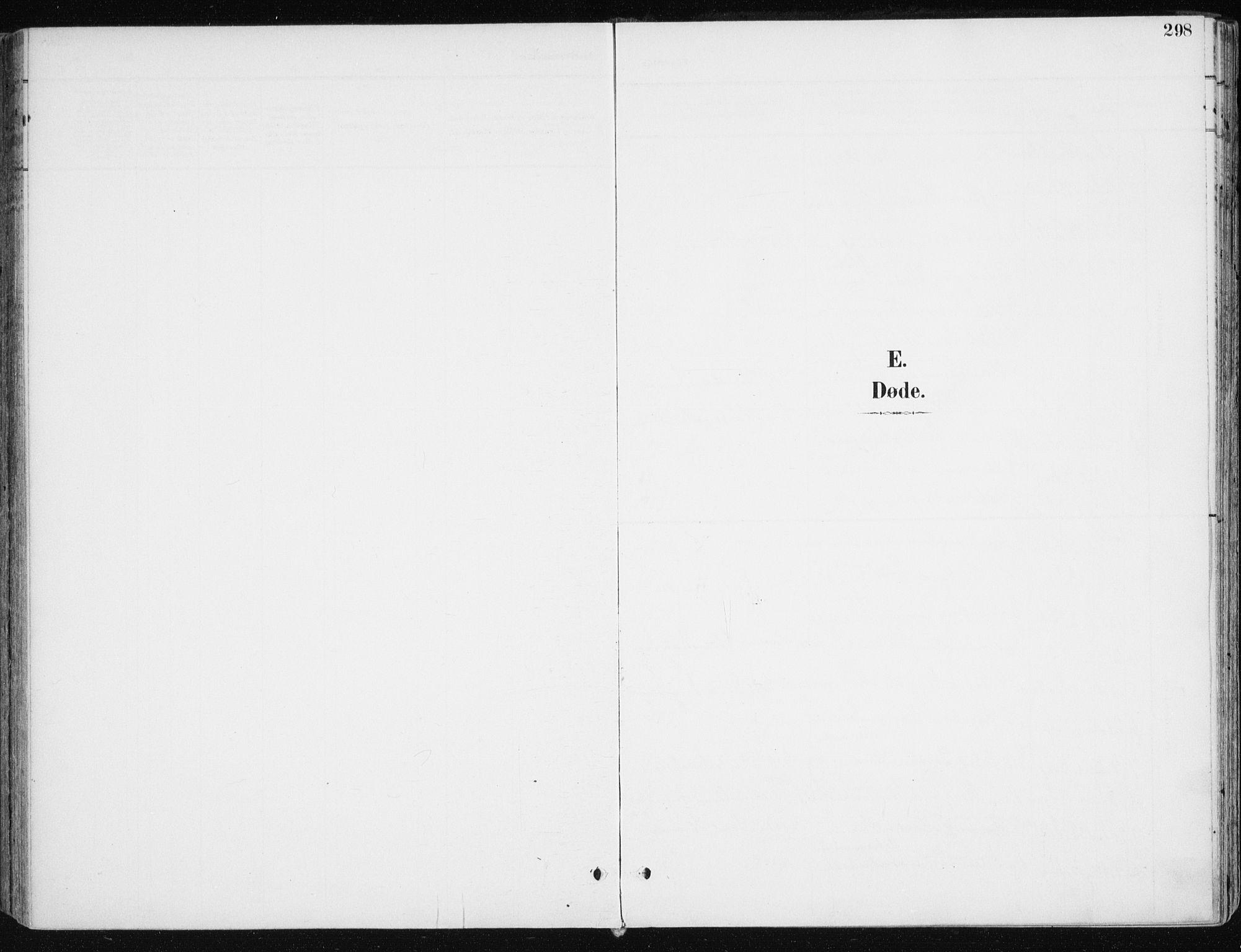 SATØ, Kvæfjord sokneprestkontor, G/Ga/Gaa/L0006kirke: Ministerialbok nr. 6, 1895-1914, s. 298