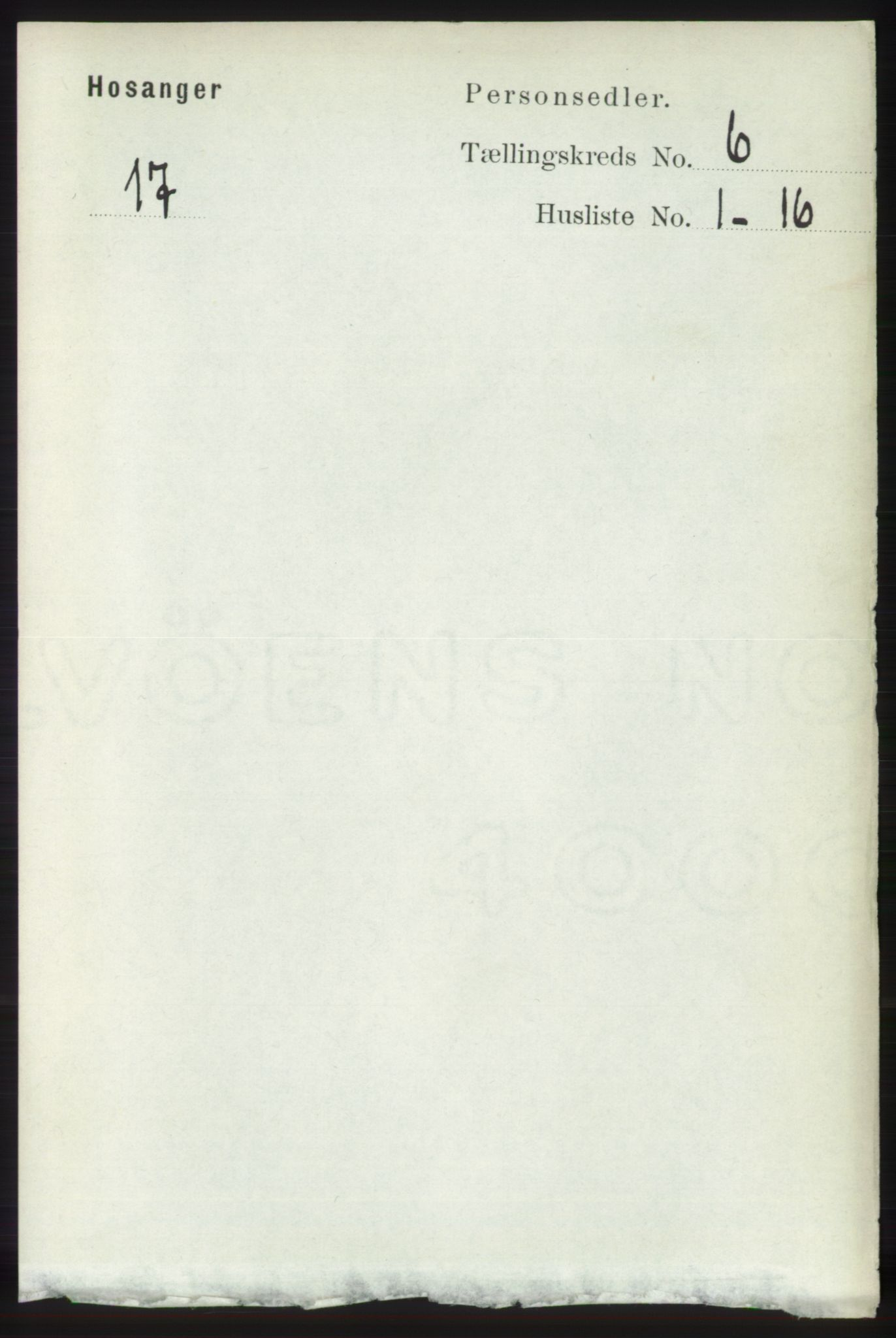 RA, Folketelling 1891 for 1253 Hosanger herred, 1891, s. 2137