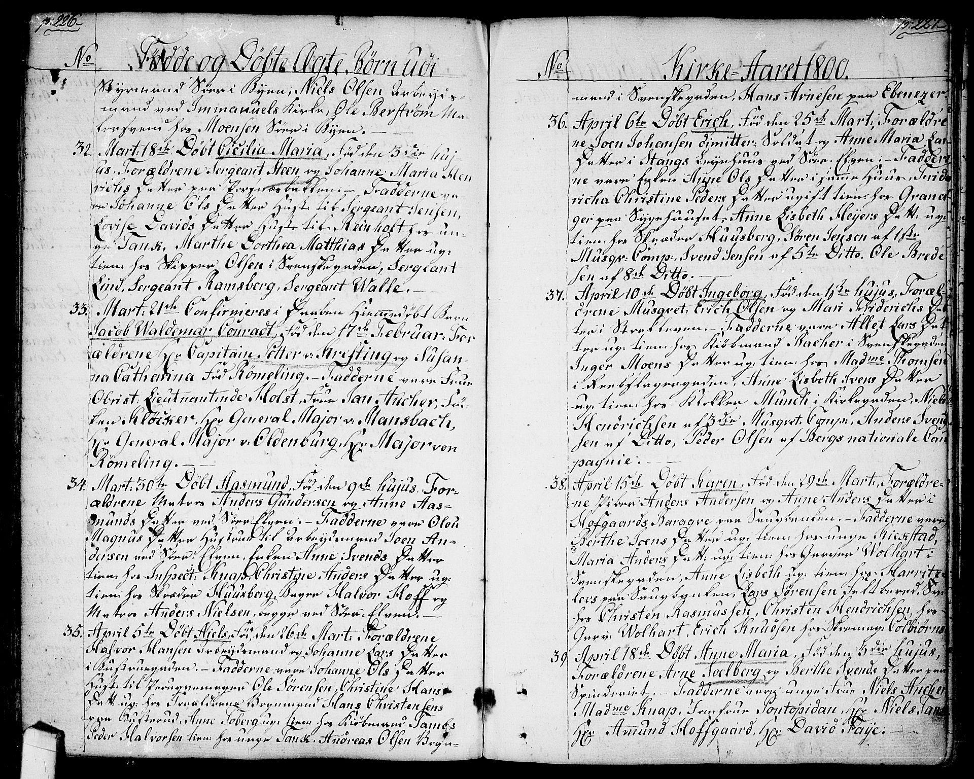 SAO, Halden prestekontor Kirkebøker, F/Fa/L0002: Ministerialbok nr. I 2, 1792-1812, s. 226-227