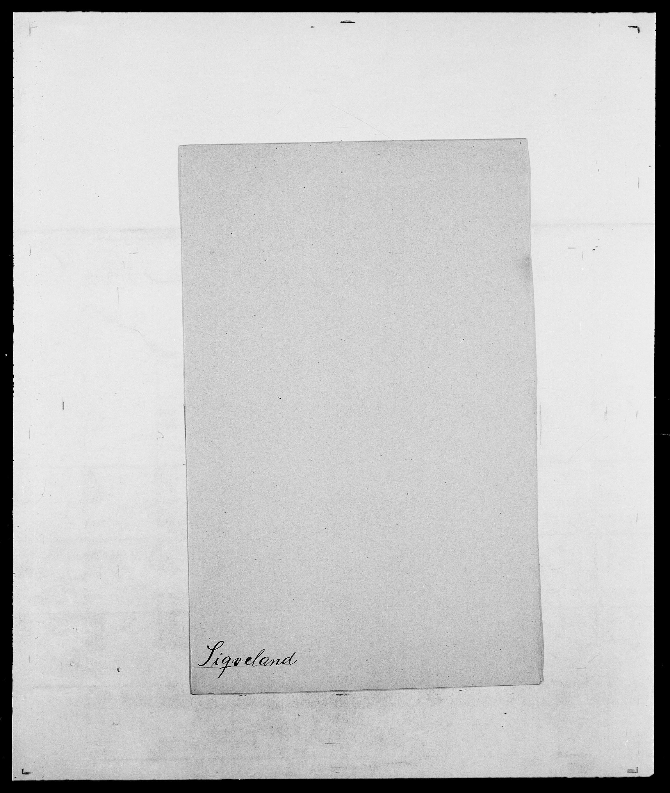 SAO, Delgobe, Charles Antoine - samling, D/Da/L0035: Schnabel - sjetman, s. 945