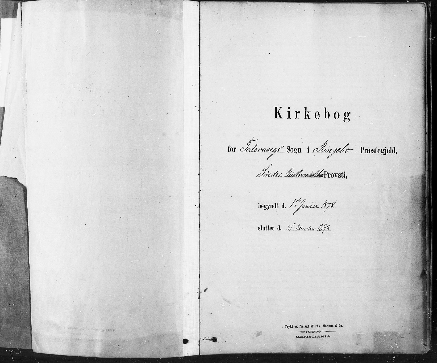 SAH, Ringebu prestekontor, Ministerialbok nr. 9, 1878-1898