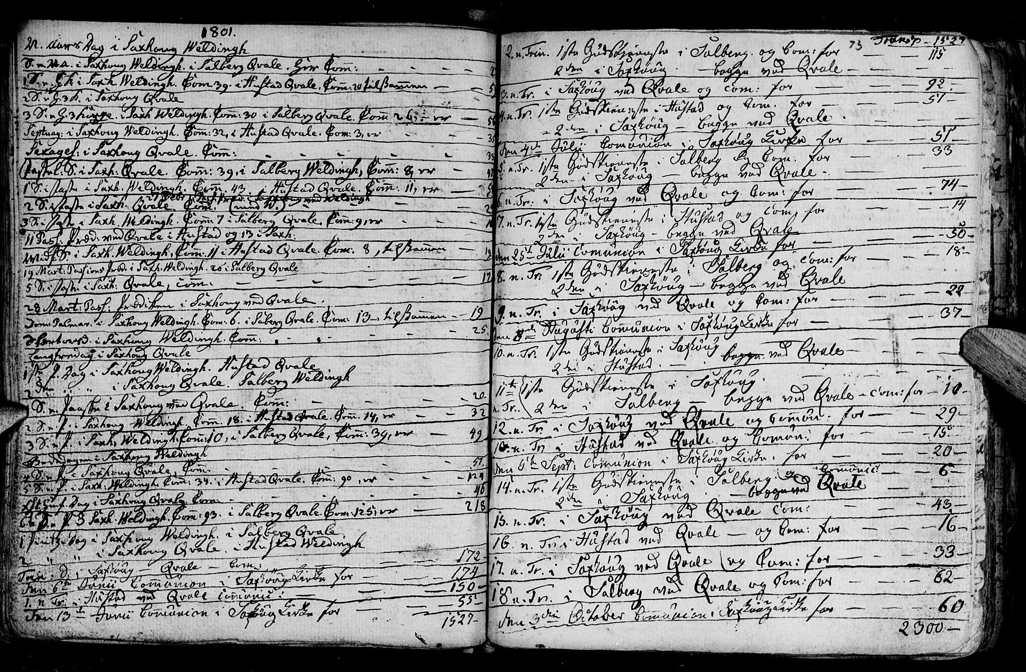 SAT, Ministerialprotokoller, klokkerbøker og fødselsregistre - Nord-Trøndelag, 730/L0273: Ministerialbok nr. 730A02, 1762-1802, s. 73