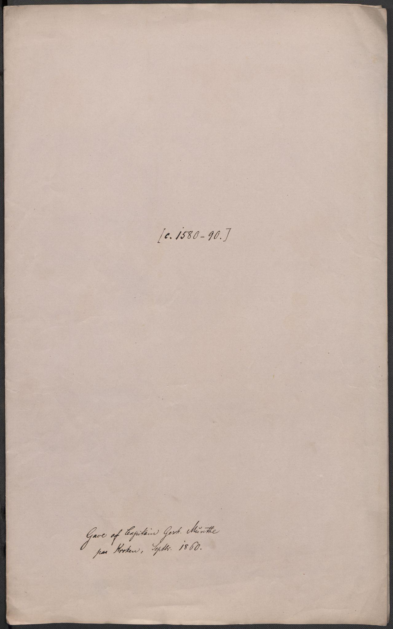 RA, Riksarkivets diplomsamling, F02/L0092: Dokumenter, 1590, s. 54