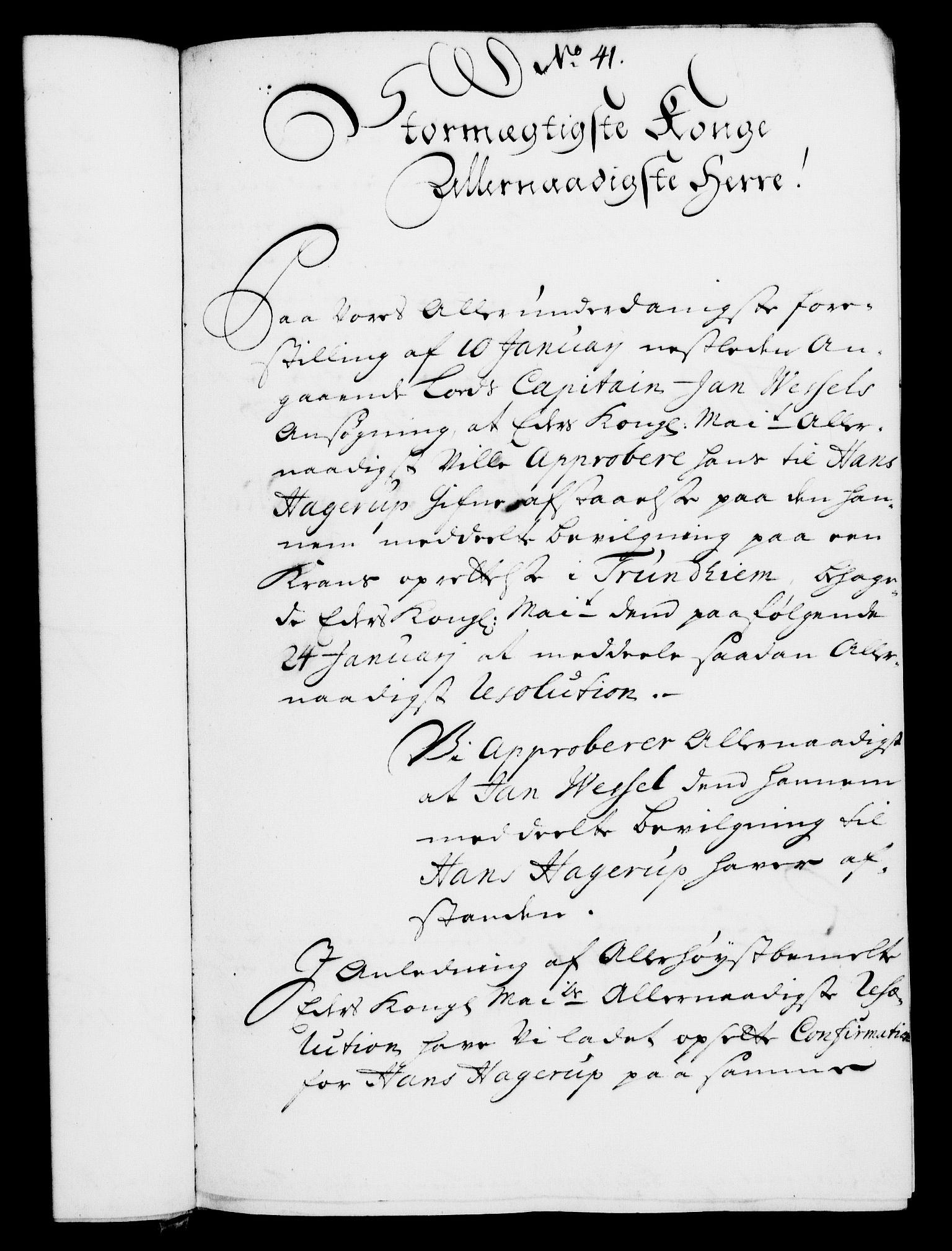 RA, Rentekammeret, Kammerkanselliet, G/Gf/Gfa/L0007: Norsk relasjons- og resolusjonsprotokoll (merket RK 52.7), 1724, s. 271