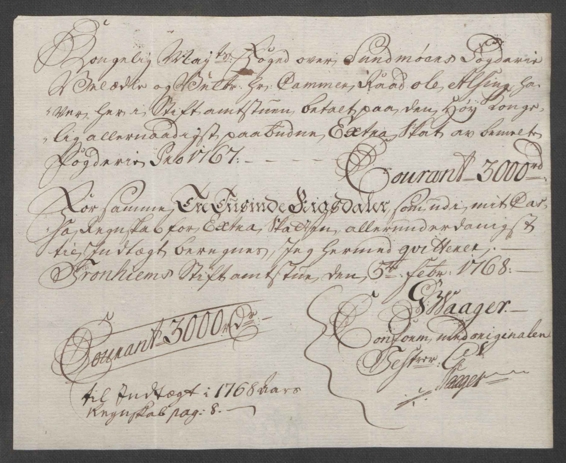 RA, Rentekammeret inntil 1814, Reviderte regnskaper, Fogderegnskap, R54/L3645: Ekstraskatten Sunnmøre, 1762-1772, s. 94