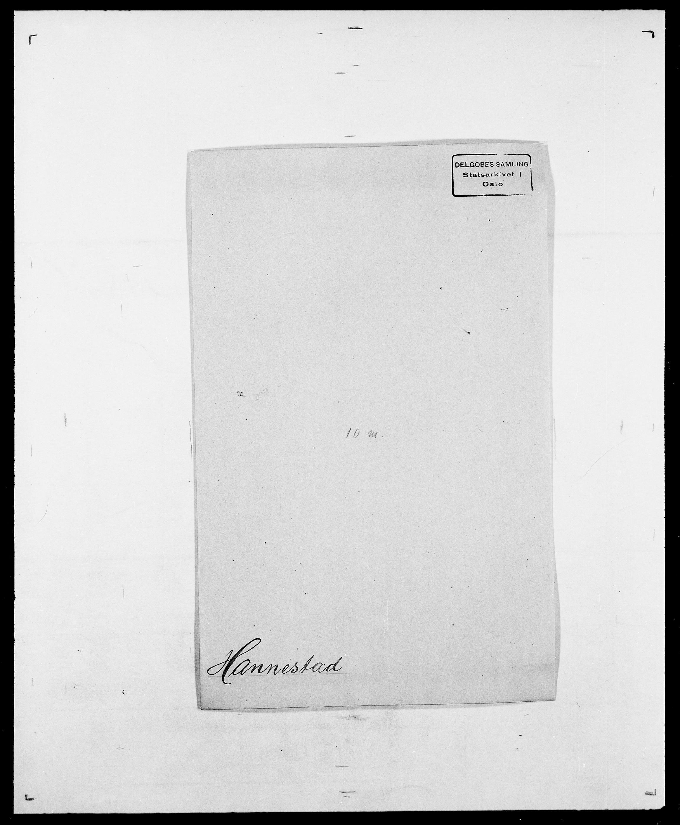 SAO, Delgobe, Charles Antoine - samling, D/Da/L0016: Hamborg - Hektoen, s. 112