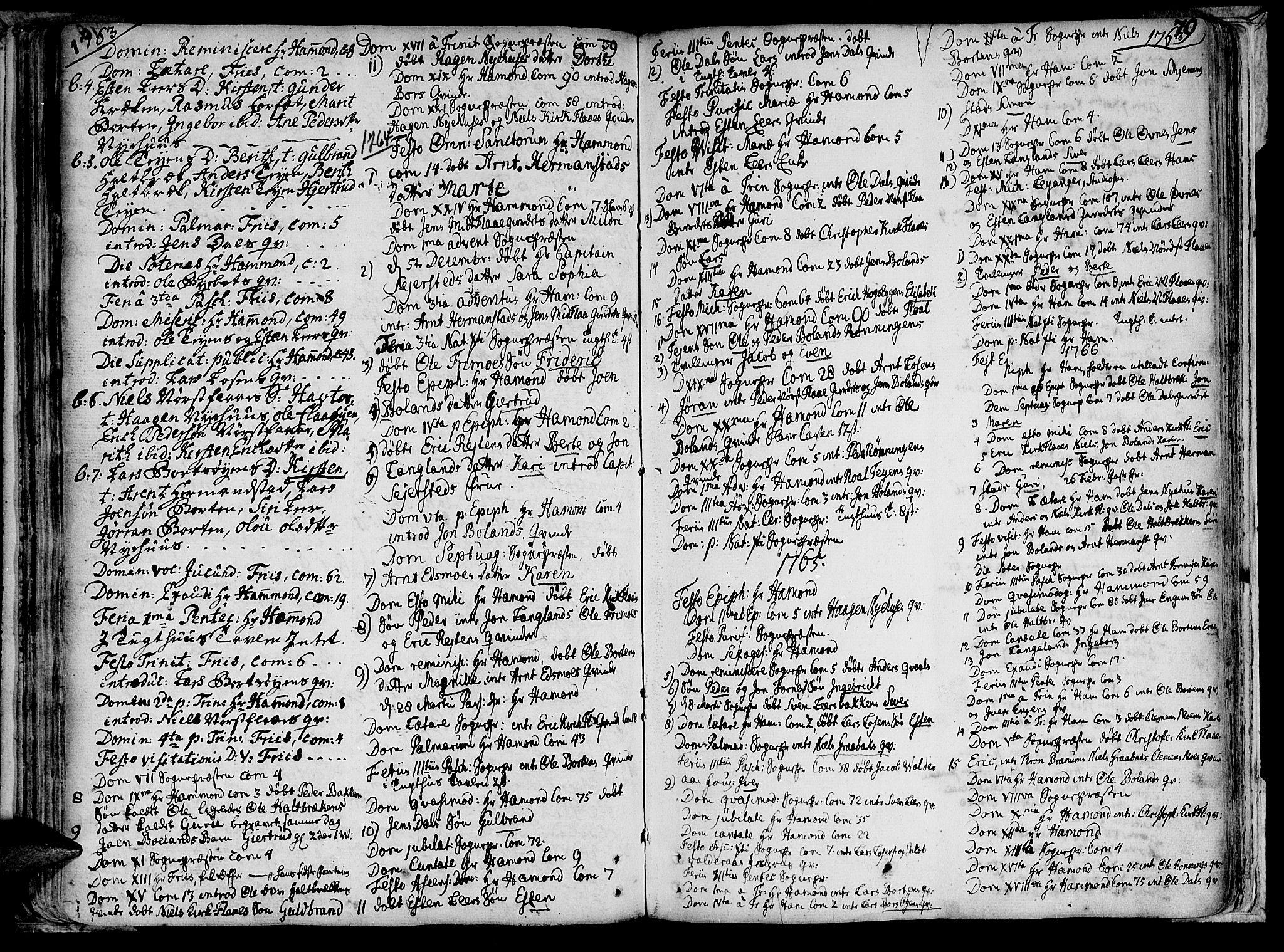 SAT, Ministerialprotokoller, klokkerbøker og fødselsregistre - Sør-Trøndelag, 691/L1058: Ministerialbok nr. 691A01 /2, 1740-1767, s. 79