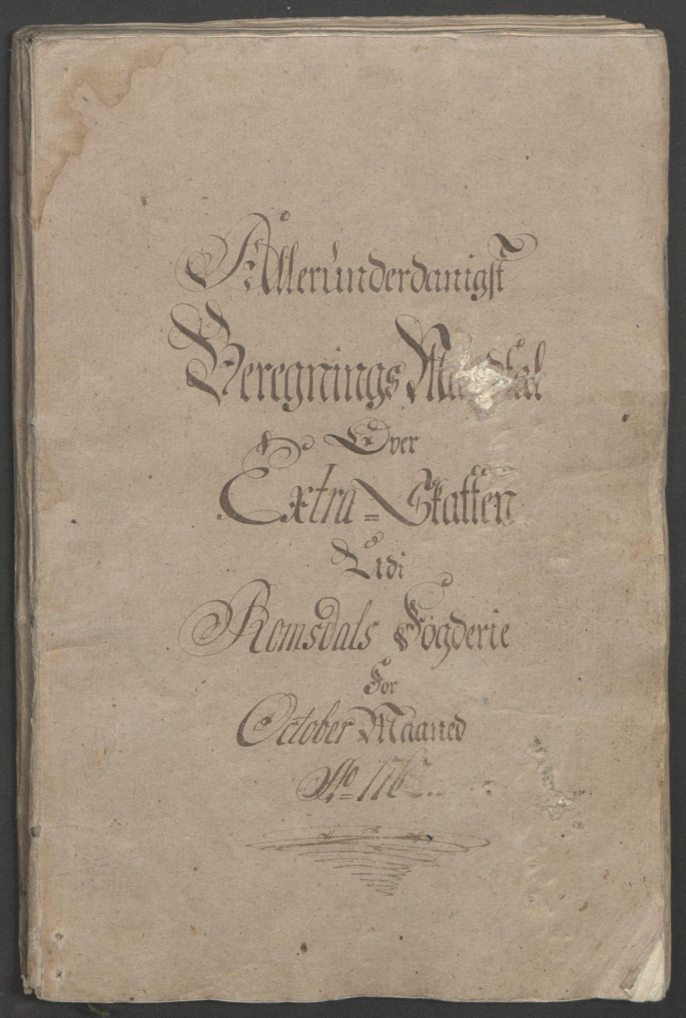 RA, Rentekammeret inntil 1814, Reviderte regnskaper, Fogderegnskap, R55/L3730: Ekstraskatten Romsdal, 1762-1763, s. 11
