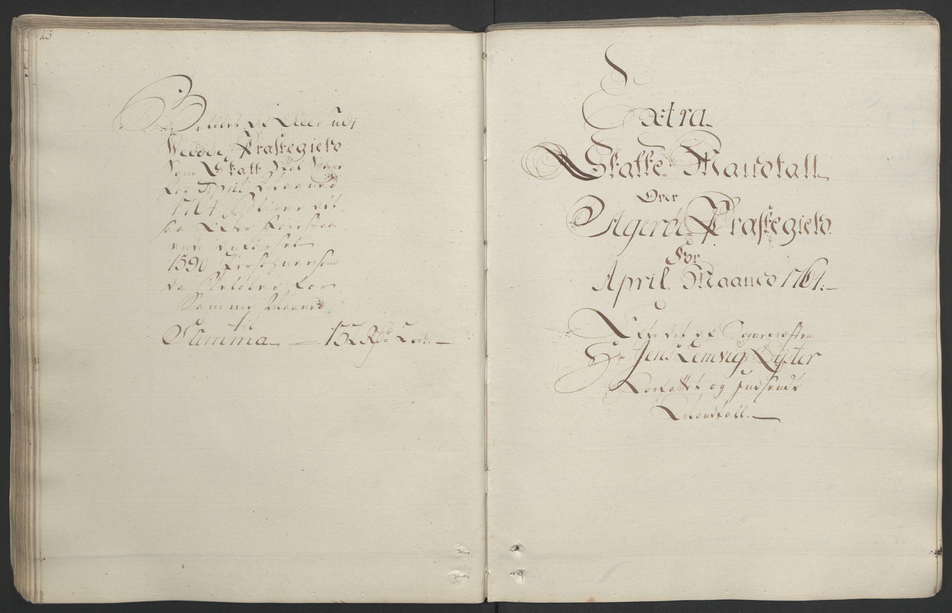 RA, Rentekammeret inntil 1814, Realistisk ordnet avdeling, Ol/L0020: [Gg 10]: Ekstraskatten, 23.09.1762. Romsdal, Strinda, Selbu, Inderøy., 1764, s. 111